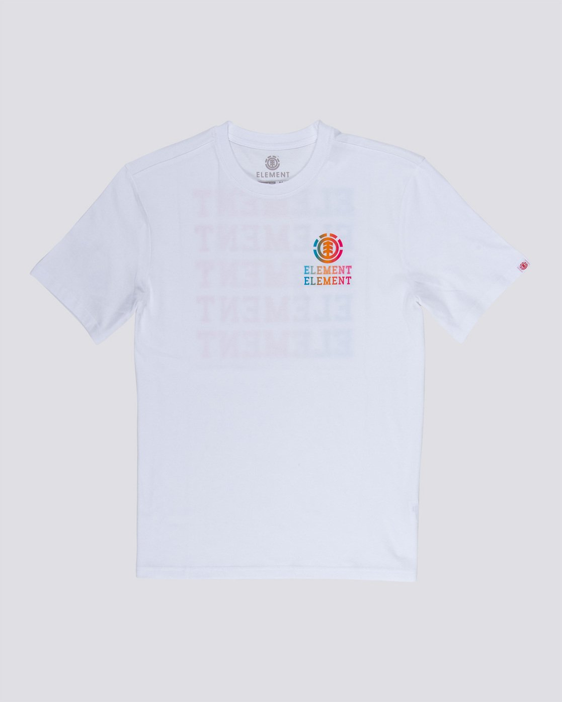 3 Drop - Maglietta da Uomo White Q1SSE4ELF9 Element