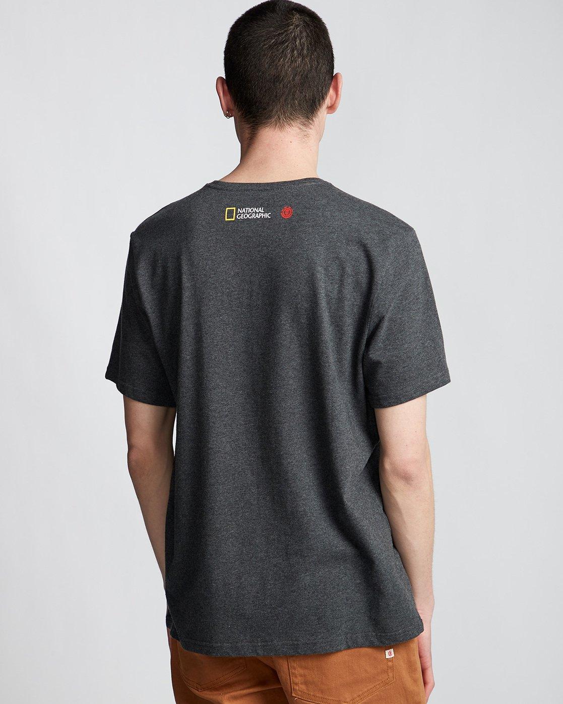 2 Hawk Smith - T-Shirt Grey Q1SSF4ELF9 Element