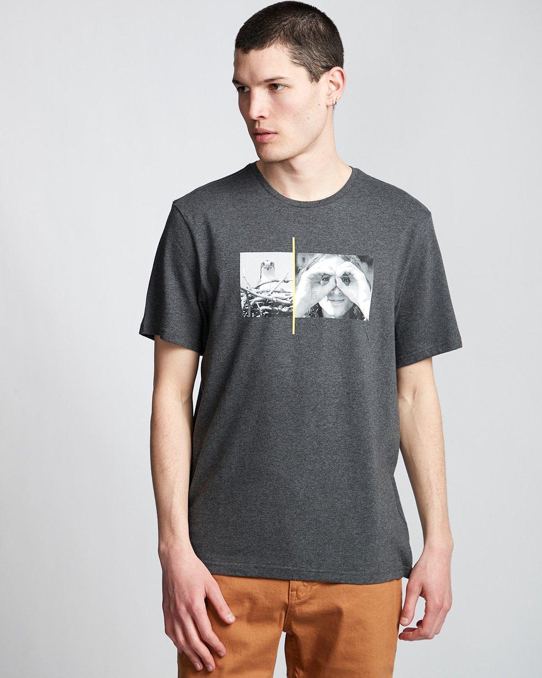 0 Hawk Smith - T-Shirt Grey Q1SSF4ELF9 Element