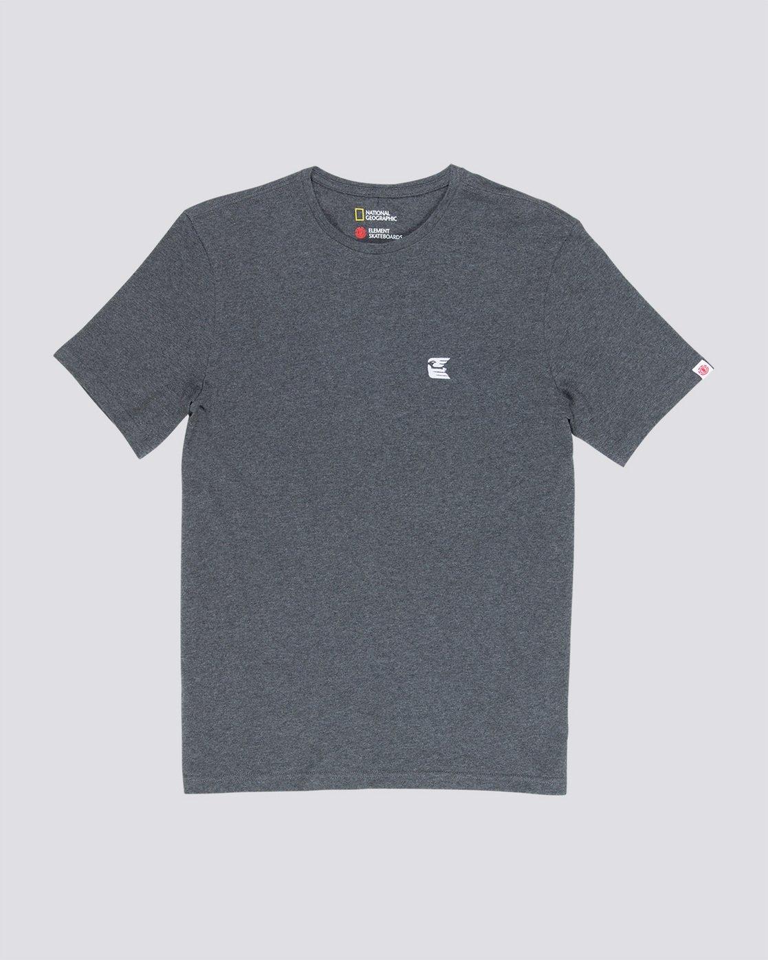 3 Soar - T-Shirt Grey Q1SSF9ELF9 Element