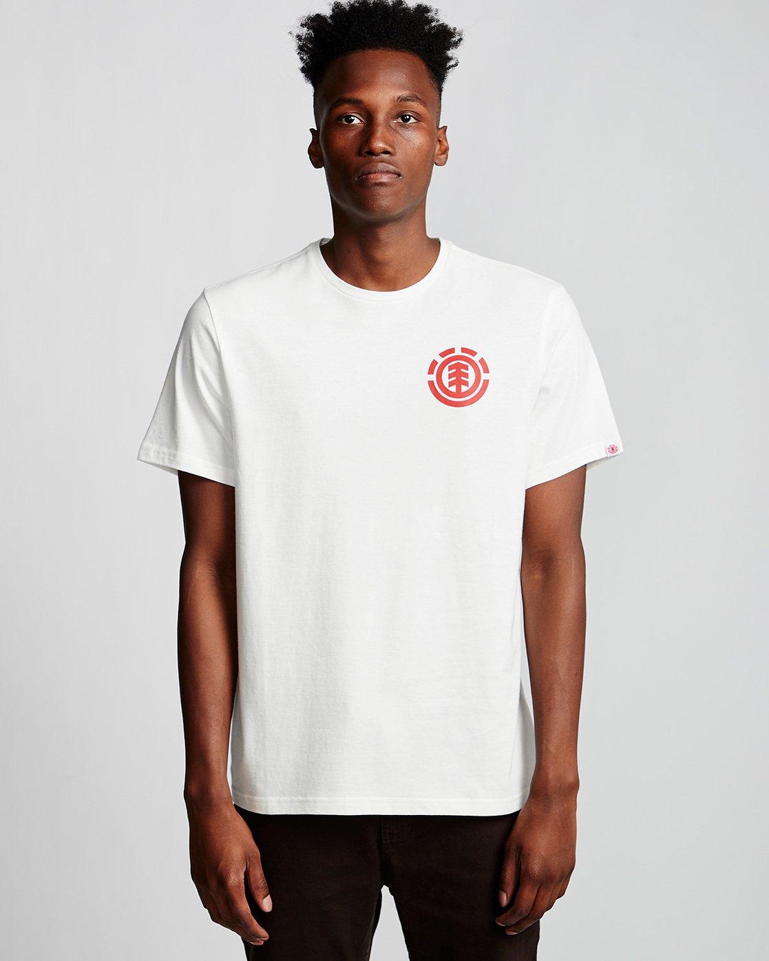 0 Unison - T-Shirt White Q1SSG1ELF9 Element
