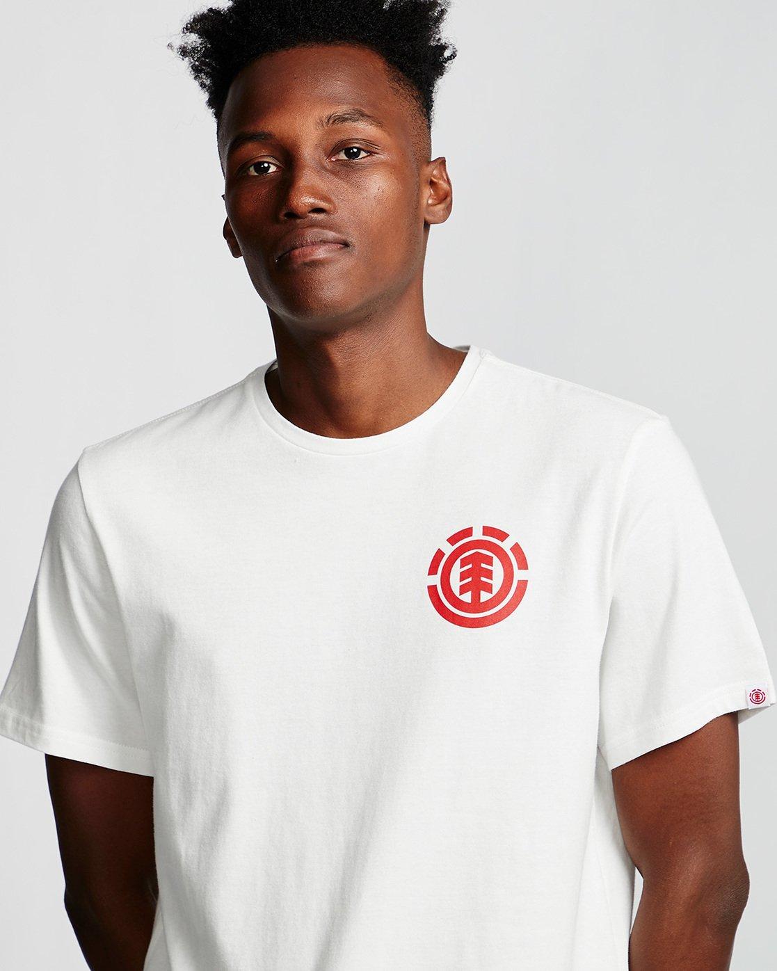 1 Unison - T-Shirt White Q1SSG1ELF9 Element