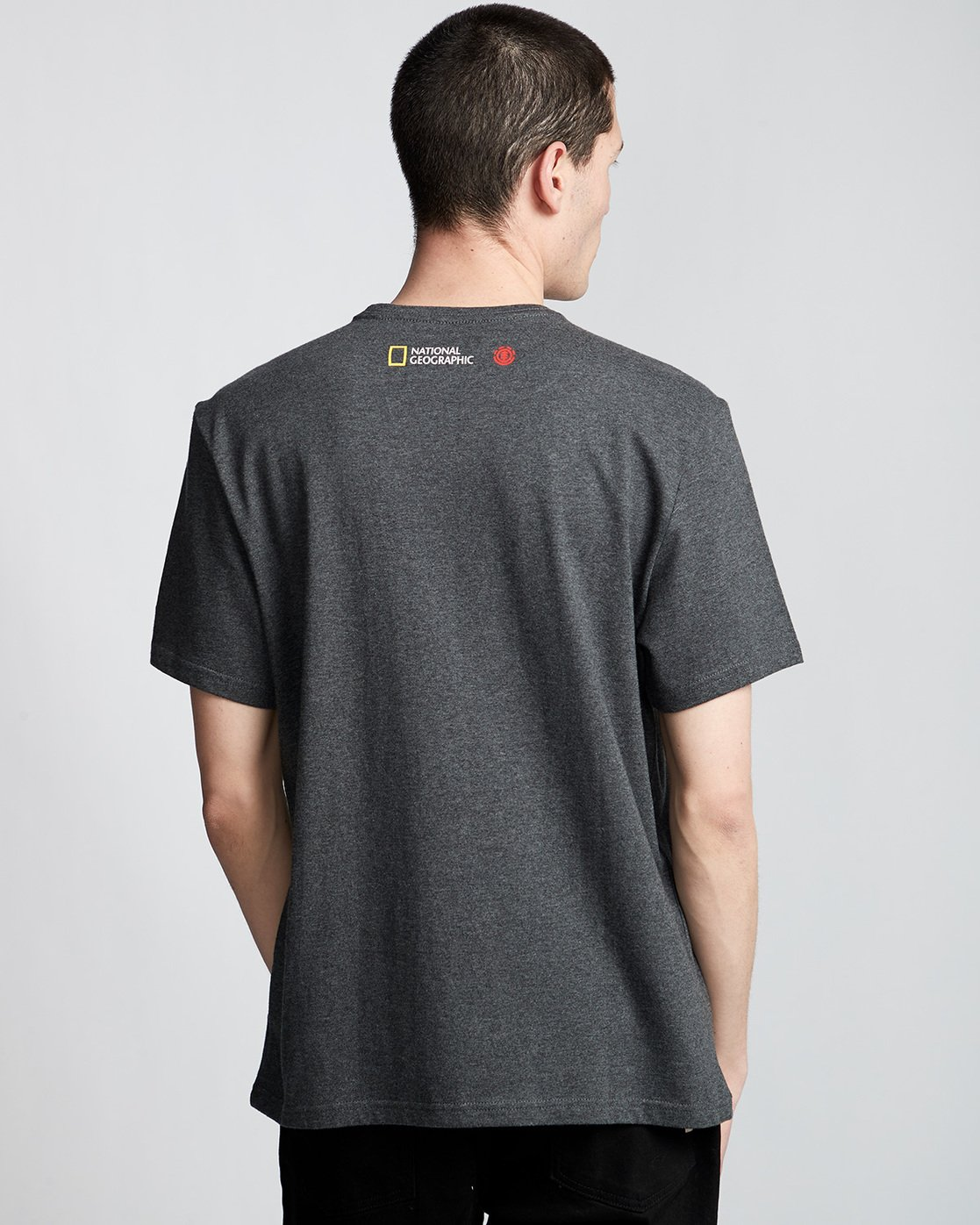 2 Horizontal Seasons - T-Shirt Grey Q1SSG2ELF9 Element