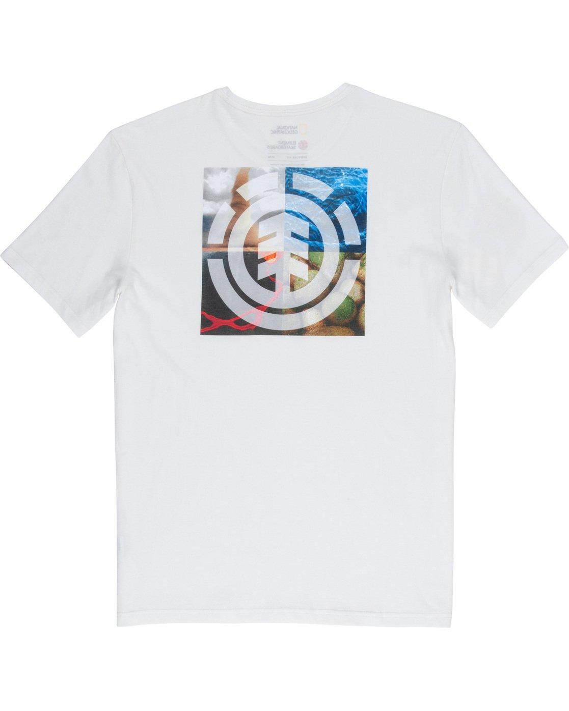 6 Quadrant Seasons - T-Shirt White Q1SSG3ELF9 Element