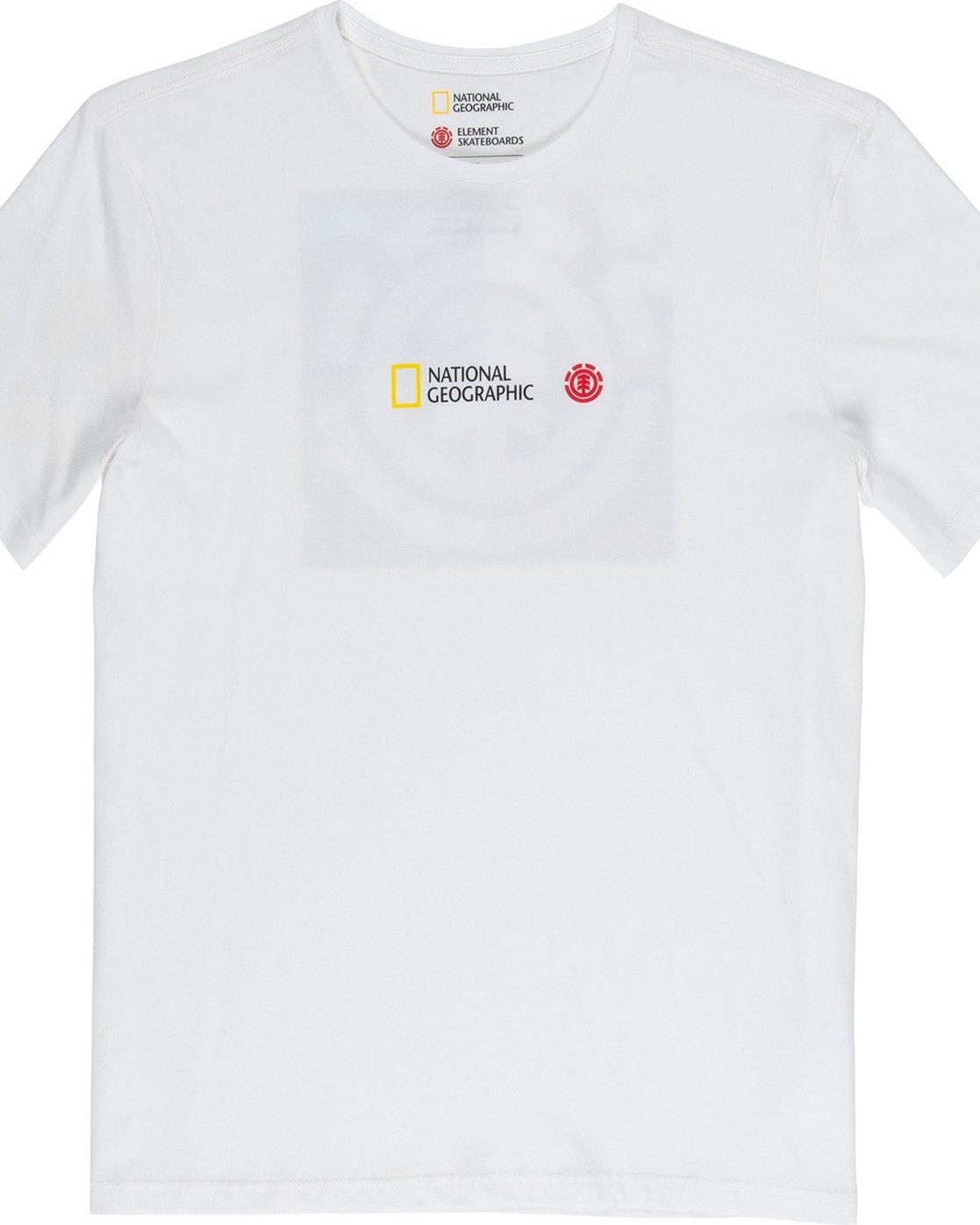 5 Quadrant Seasons - T-Shirt White Q1SSG3ELF9 Element