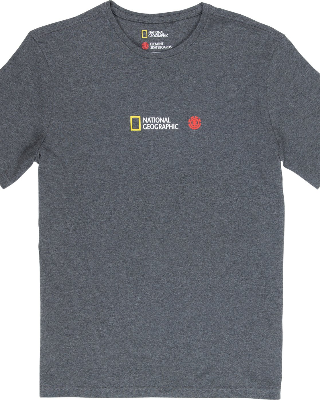 5 Quadrant Seasons - T-Shirt Grey Q1SSG3ELF9 Element