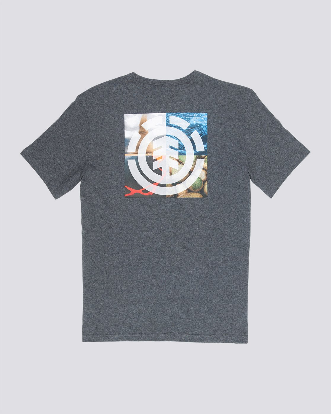 4 Quadrant Seasons - T-Shirt Grey Q1SSG3ELF9 Element