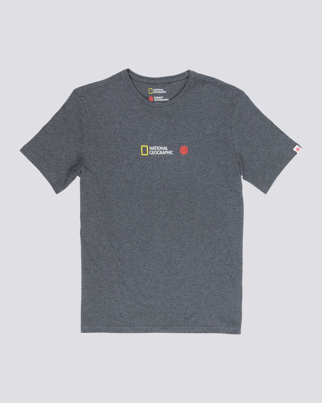 3 Quadrant Seasons - T-Shirt Grey Q1SSG3ELF9 Element