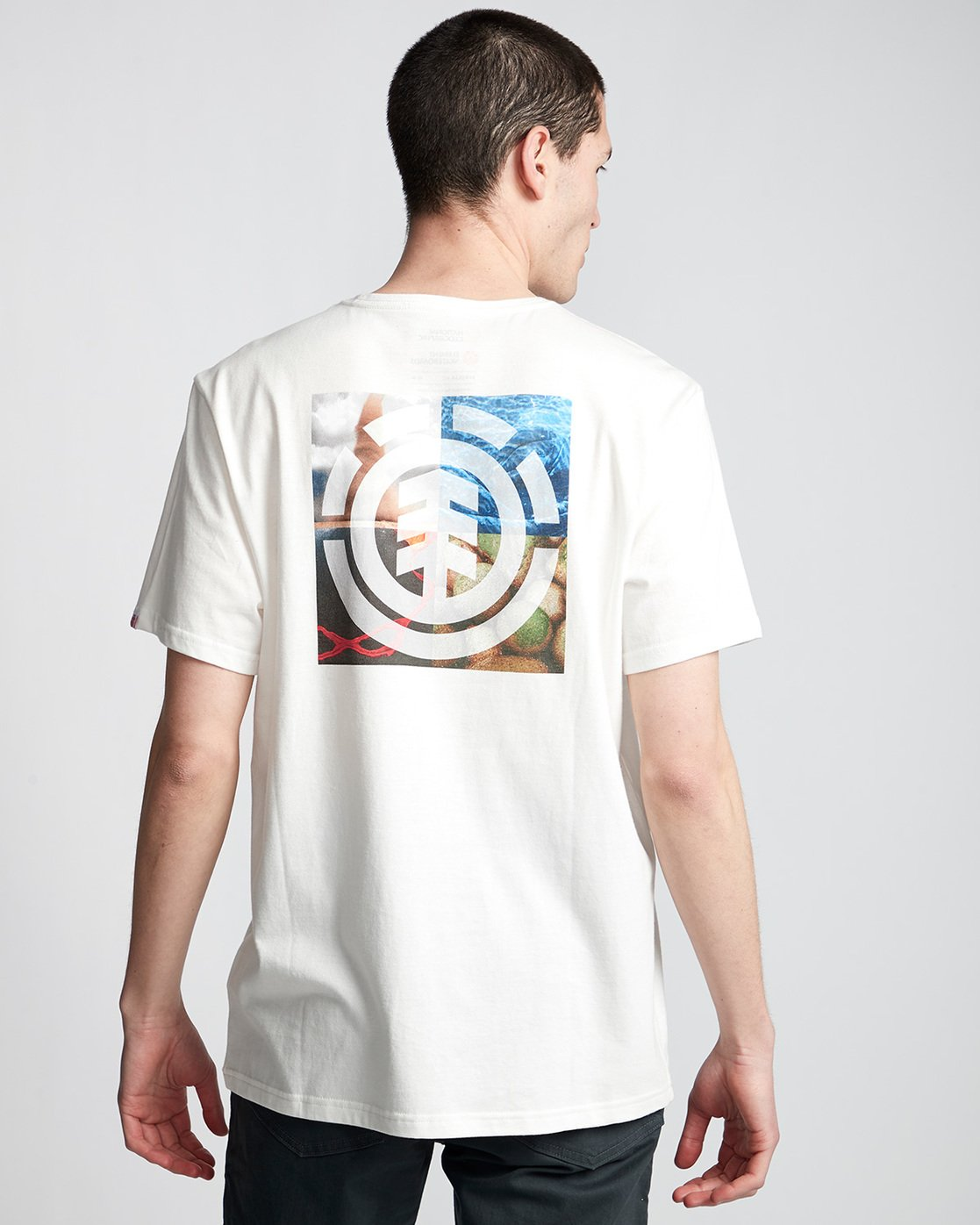 2 Quadrant Seasons - T-Shirt White Q1SSG3ELF9 Element