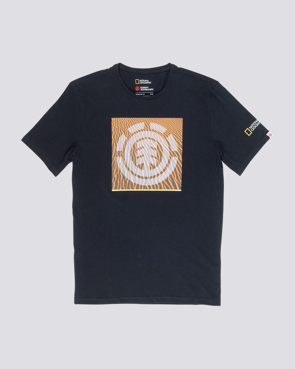 3 Dunes Icon - T-Shirt für Männer Schwarz Q1SSG4ELF9 Element