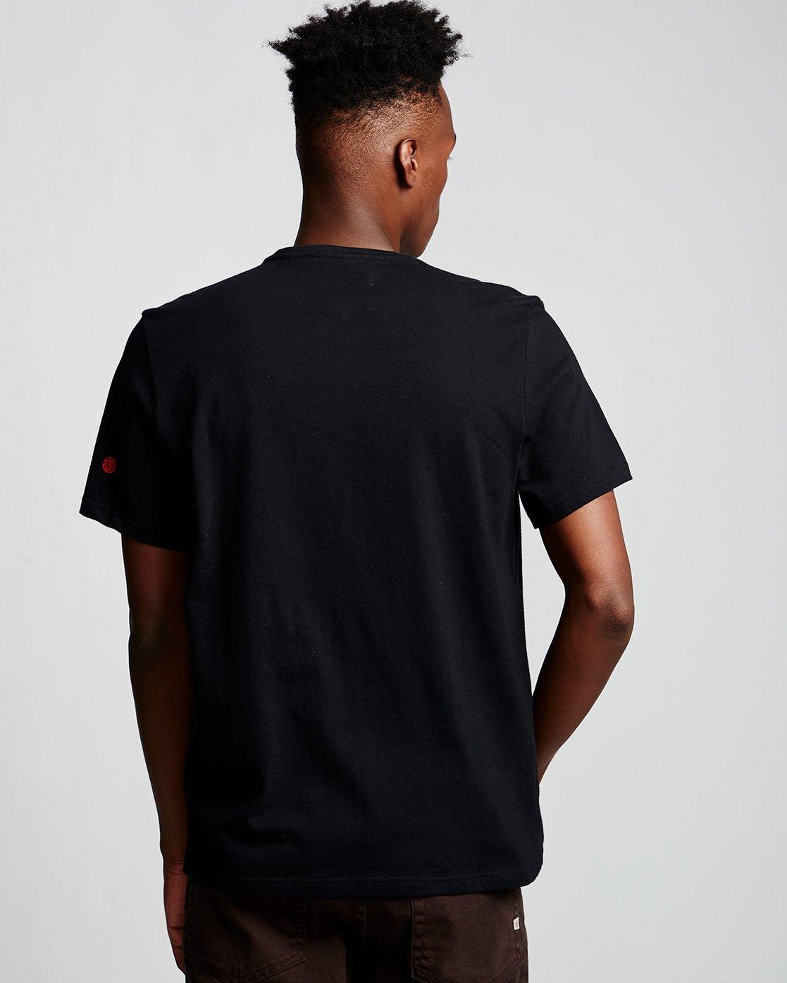 2 Dunes Icon - T-Shirt Black Q1SSG4ELF9 Element
