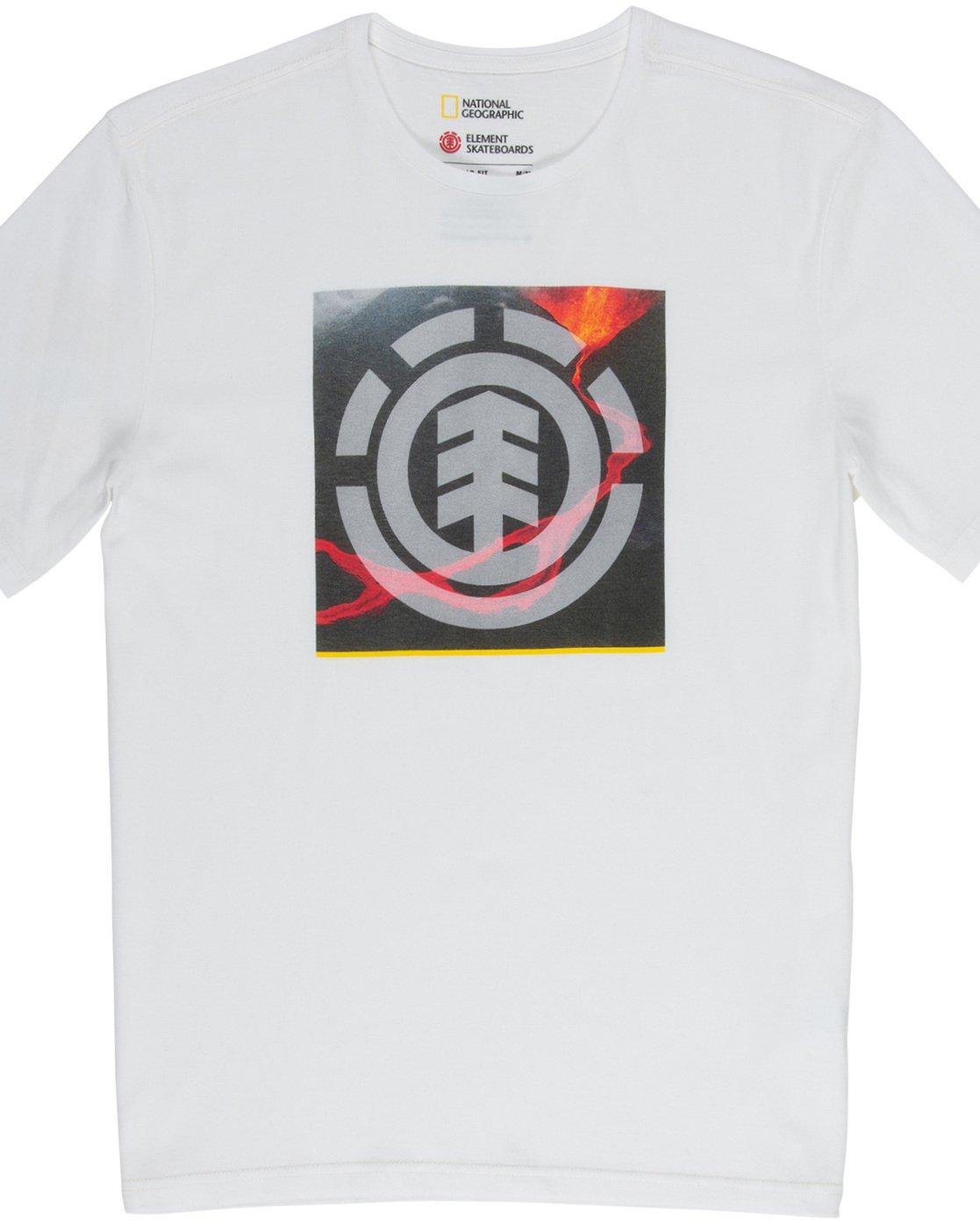 4 Surge Icon - T-Shirt White Q1SSG5ELF9 Element