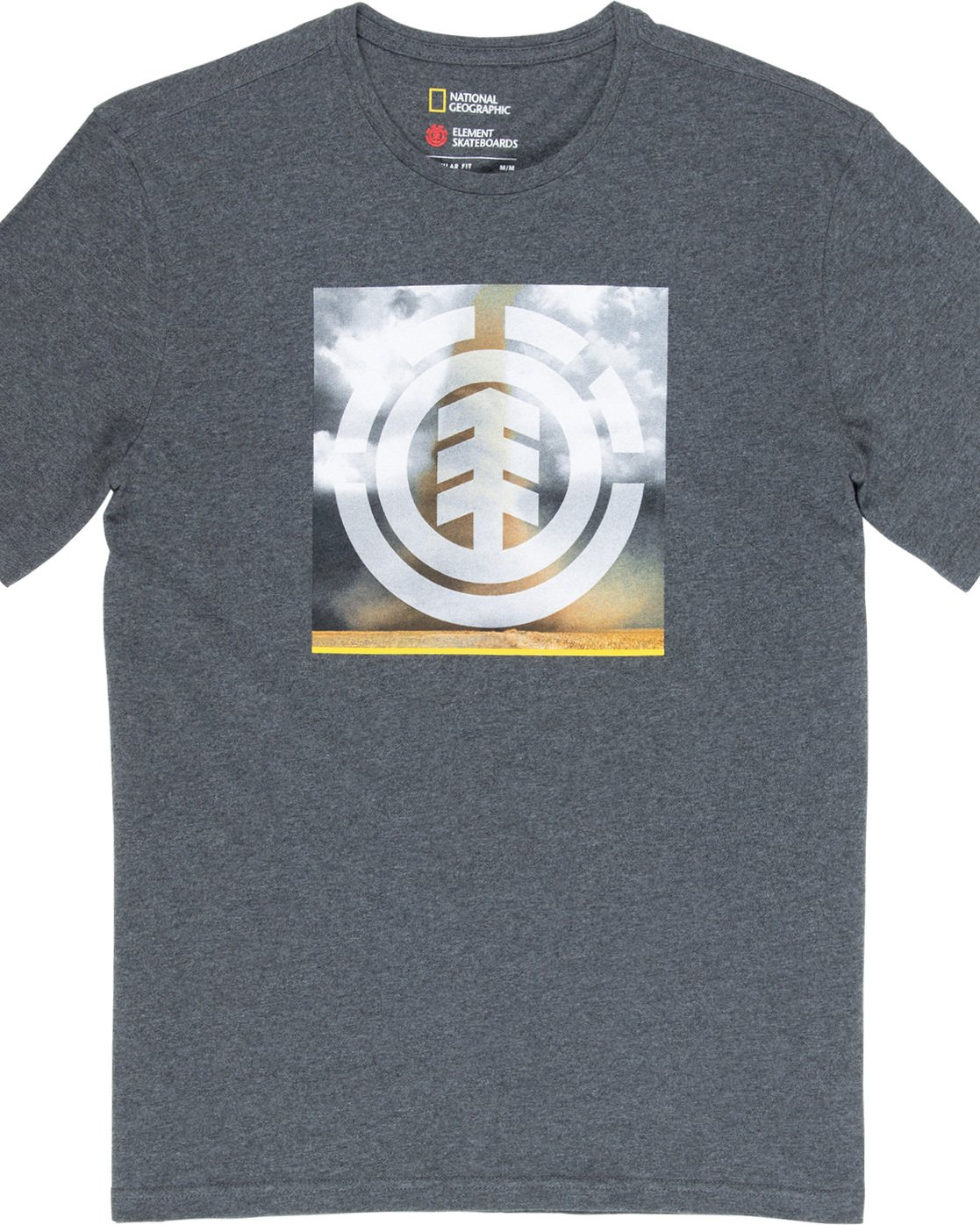 4 Combust Icon - T-Shirt Grey Q1SSG7ELF9 Element