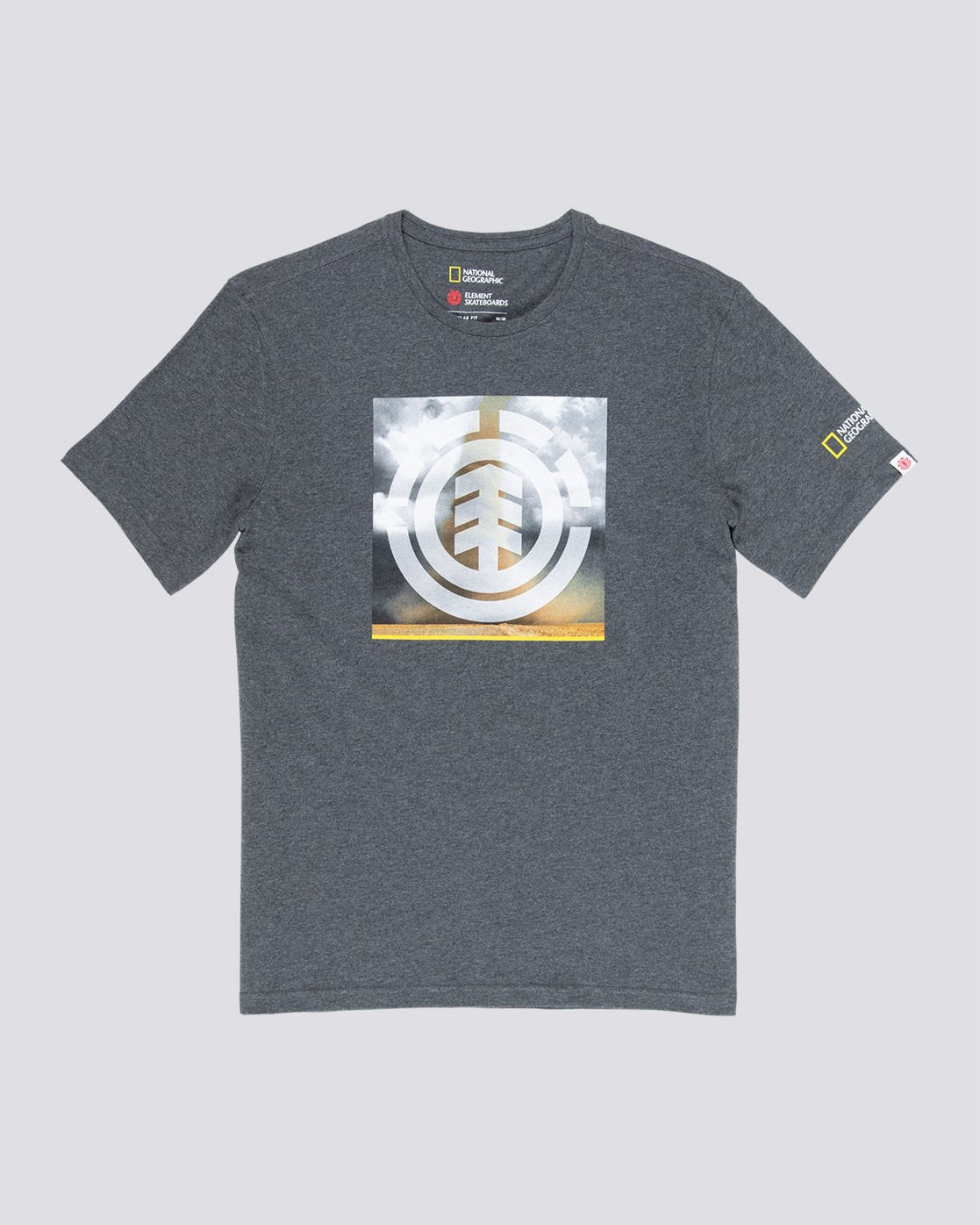 3 Combust Icon - T-Shirt Grey Q1SSG7ELF9 Element