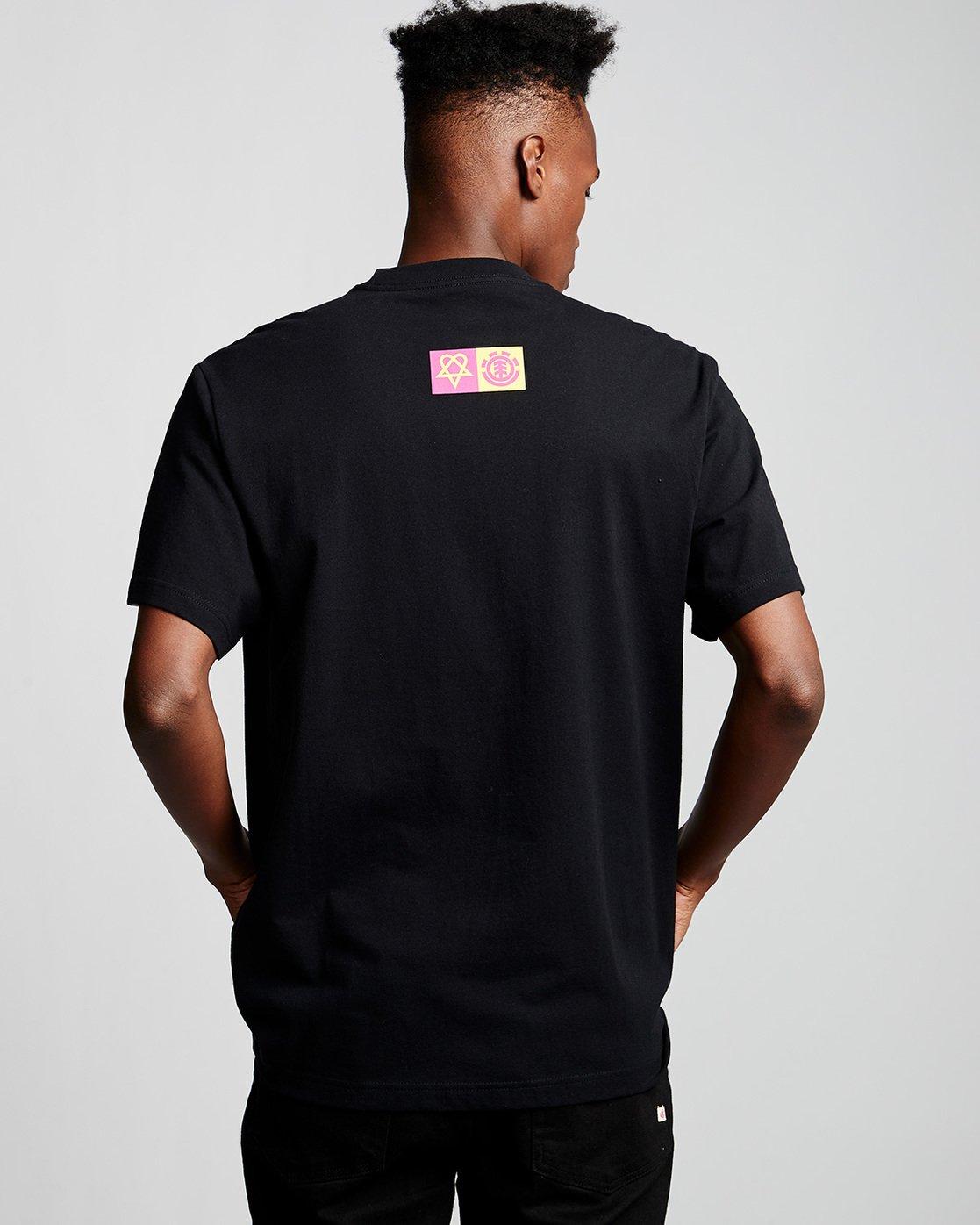 2 Margera - T-Shirt Black Q1SSG8ELF9 Element