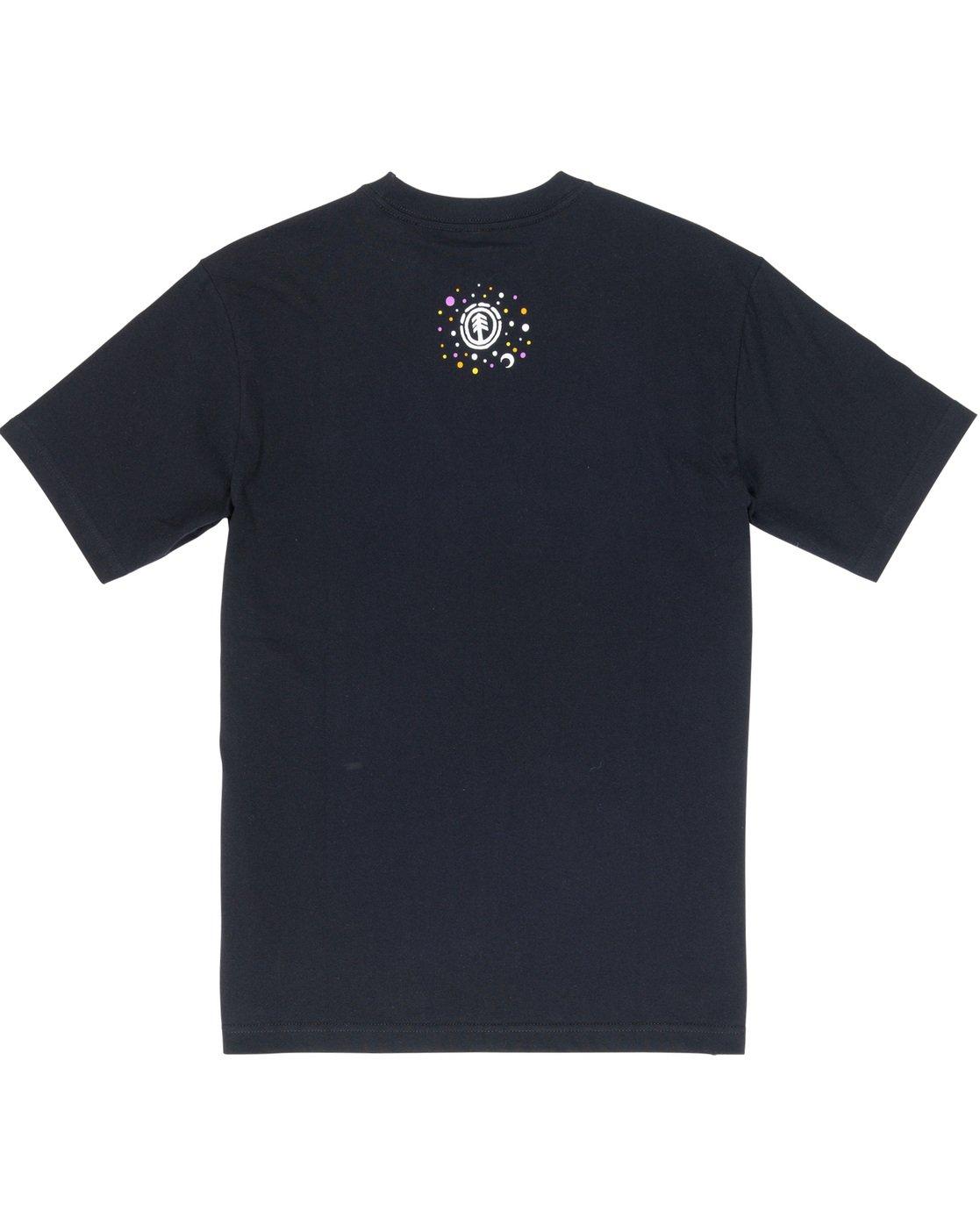 6 Barbee - T-Shirt Black Q1SSG9ELF9 Element