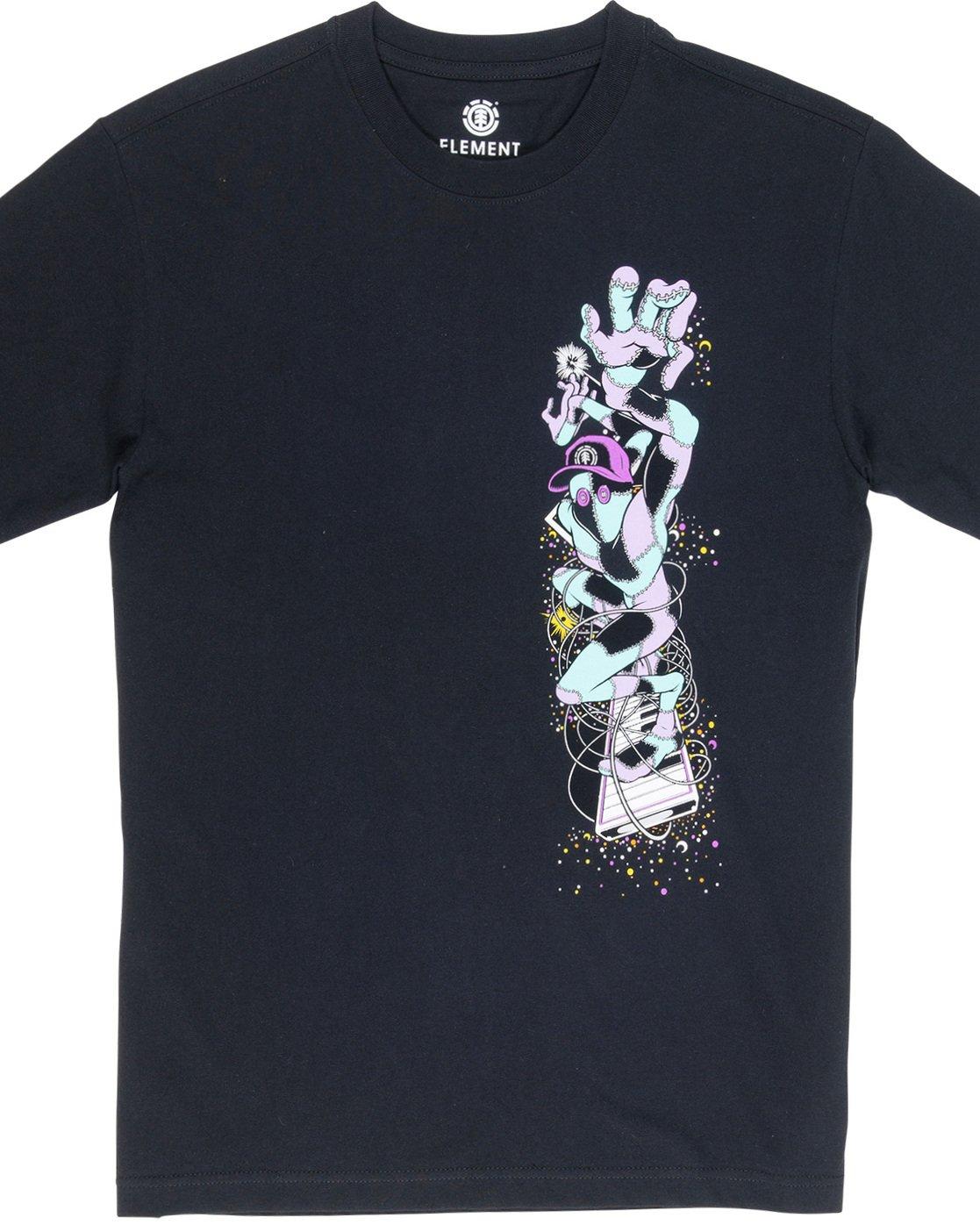5 Barbee - T-Shirt Black Q1SSG9ELF9 Element