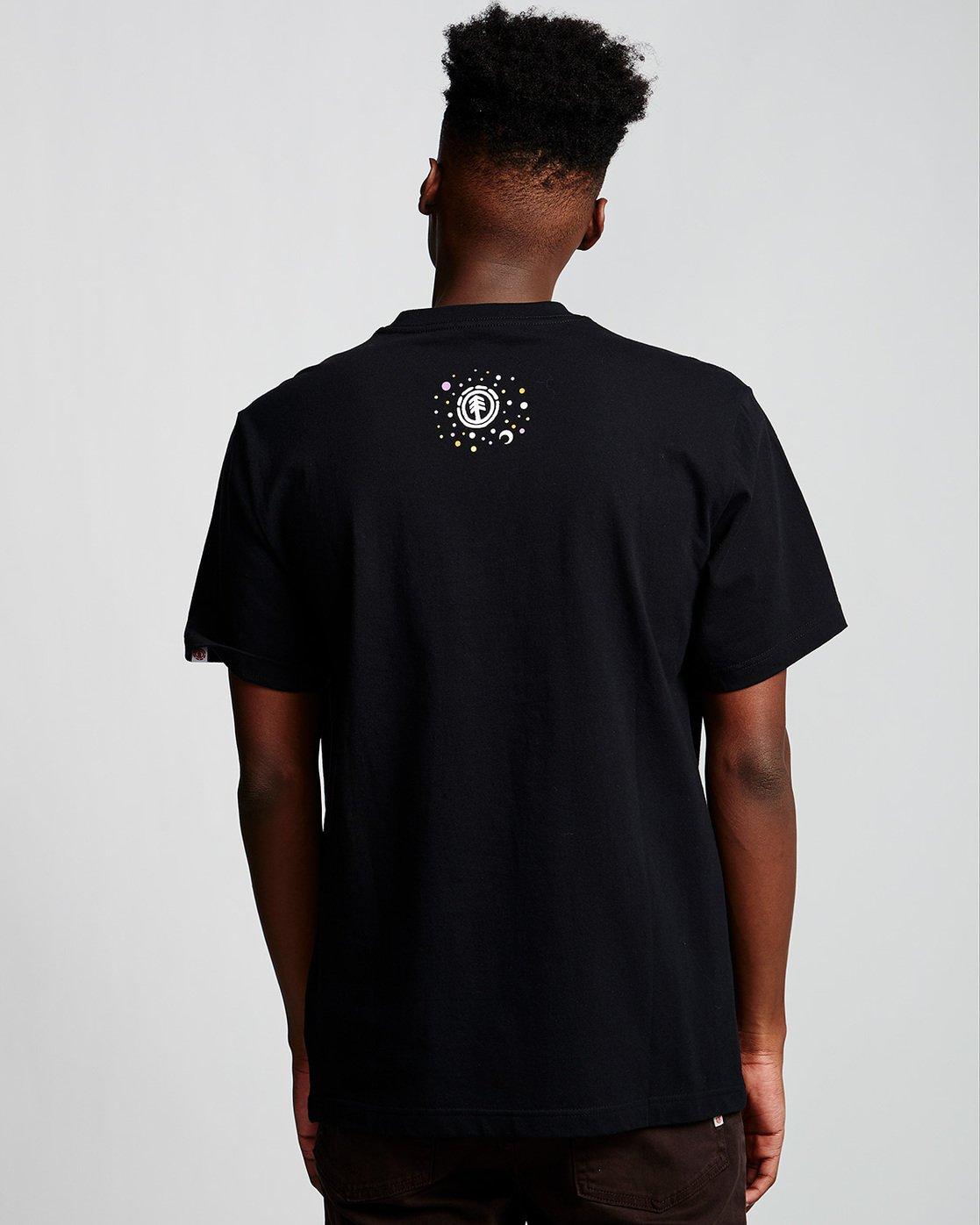 2 Barbee - T-Shirt Black Q1SSG9ELF9 Element