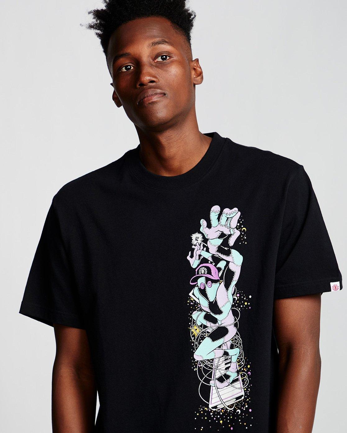 1 Barbee - T-Shirt Black Q1SSG9ELF9 Element