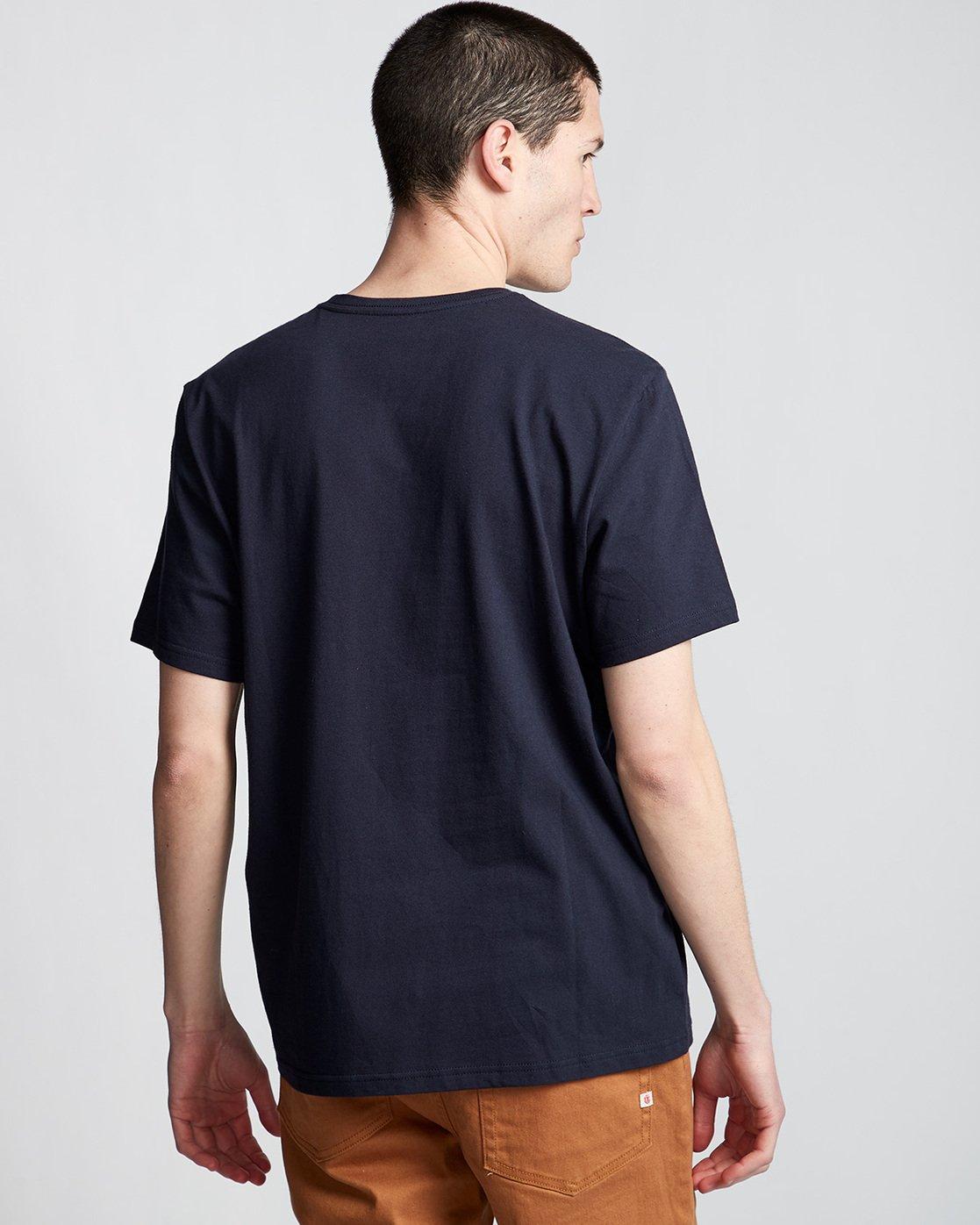 2 Too Late Stump - Maglietta da Uomo Blue Q1SSH6ELF9 Element