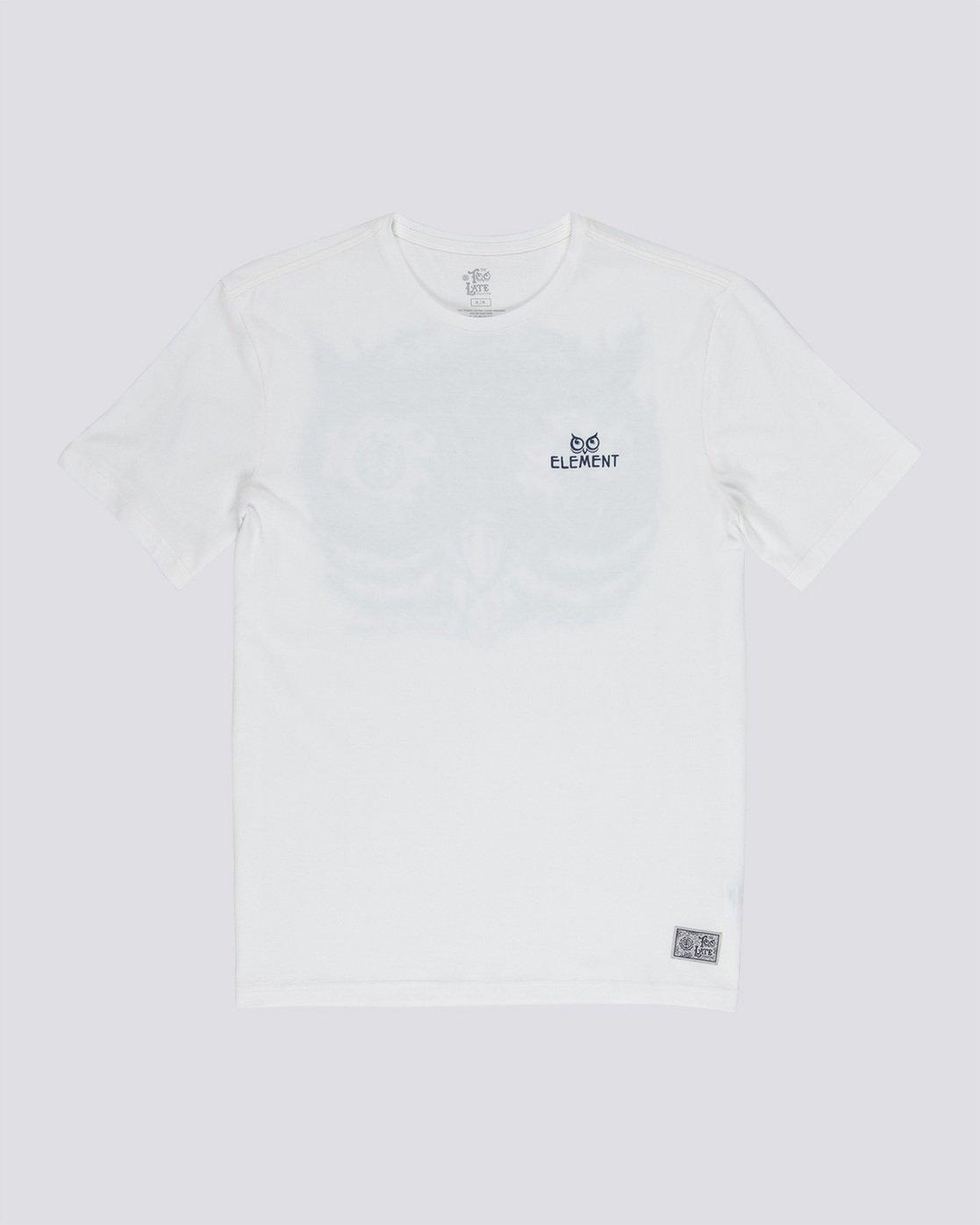 3 In The Owl - T-Shirt White Q1SSH8ELF9 Element