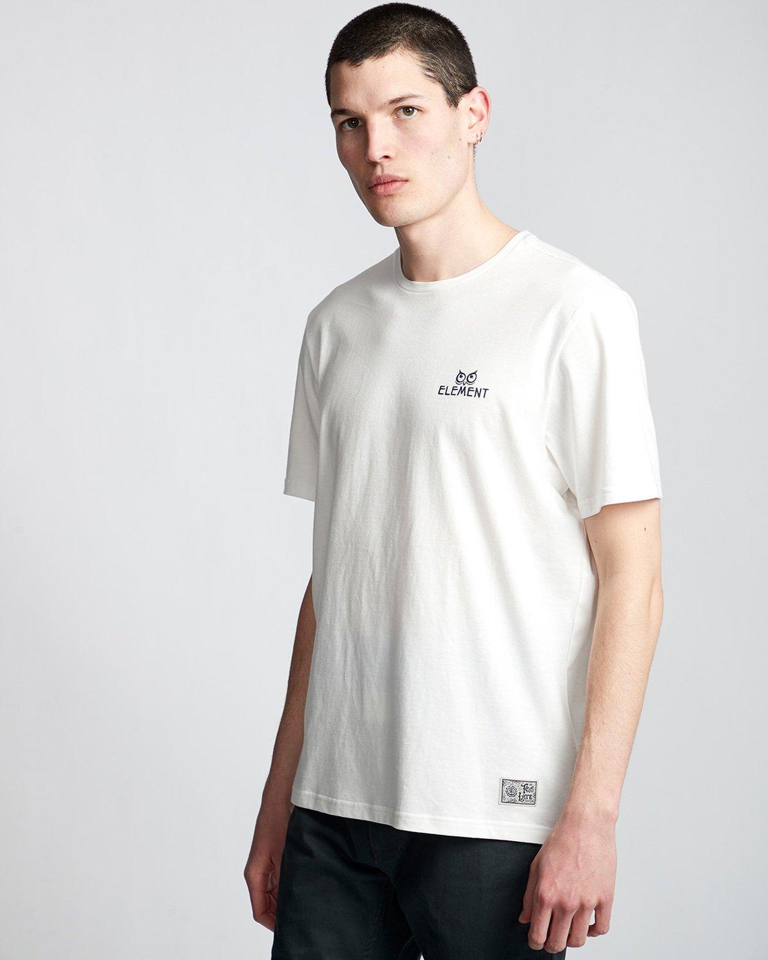 0 In The Owl - T-Shirt White Q1SSH8ELF9 Element