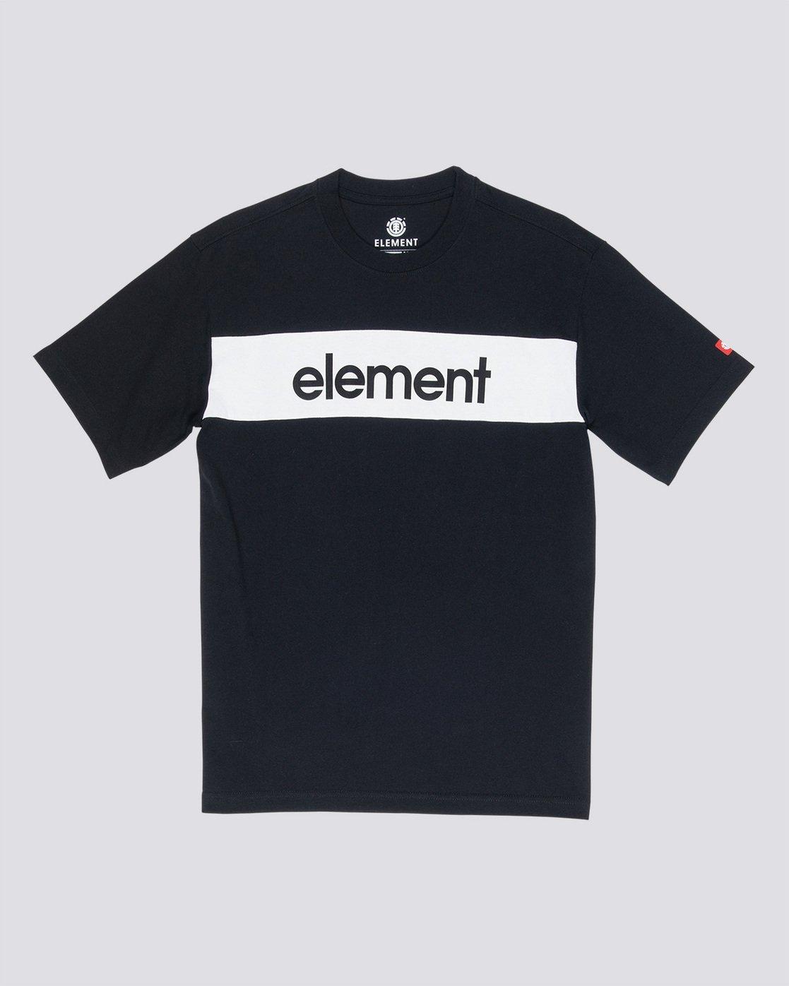 3 Primo Flag - Maglietta da Uomo Black Q1SSI2ELF9 Element