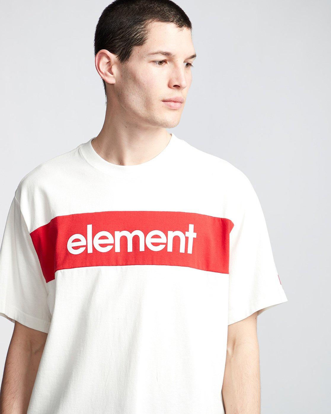1 Primo Flag - T-Shirt White Q1SSI2ELF9 Element