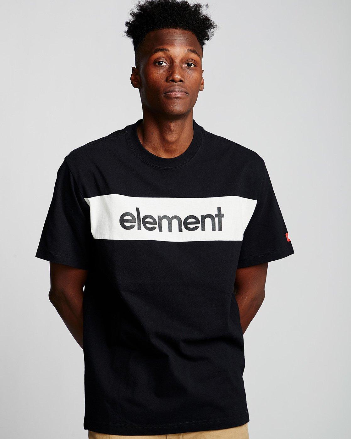 0 Primo Flag - Maglietta da Uomo Black Q1SSI2ELF9 Element