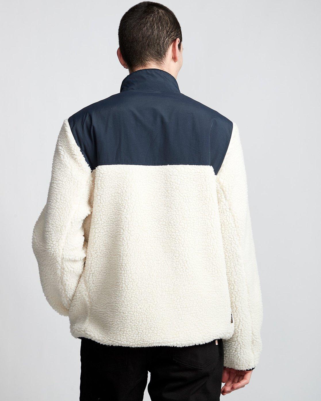 3 Abenaki Warm - Sweat zippé pour Homme Blanc Q1WAA4ELF9 Element