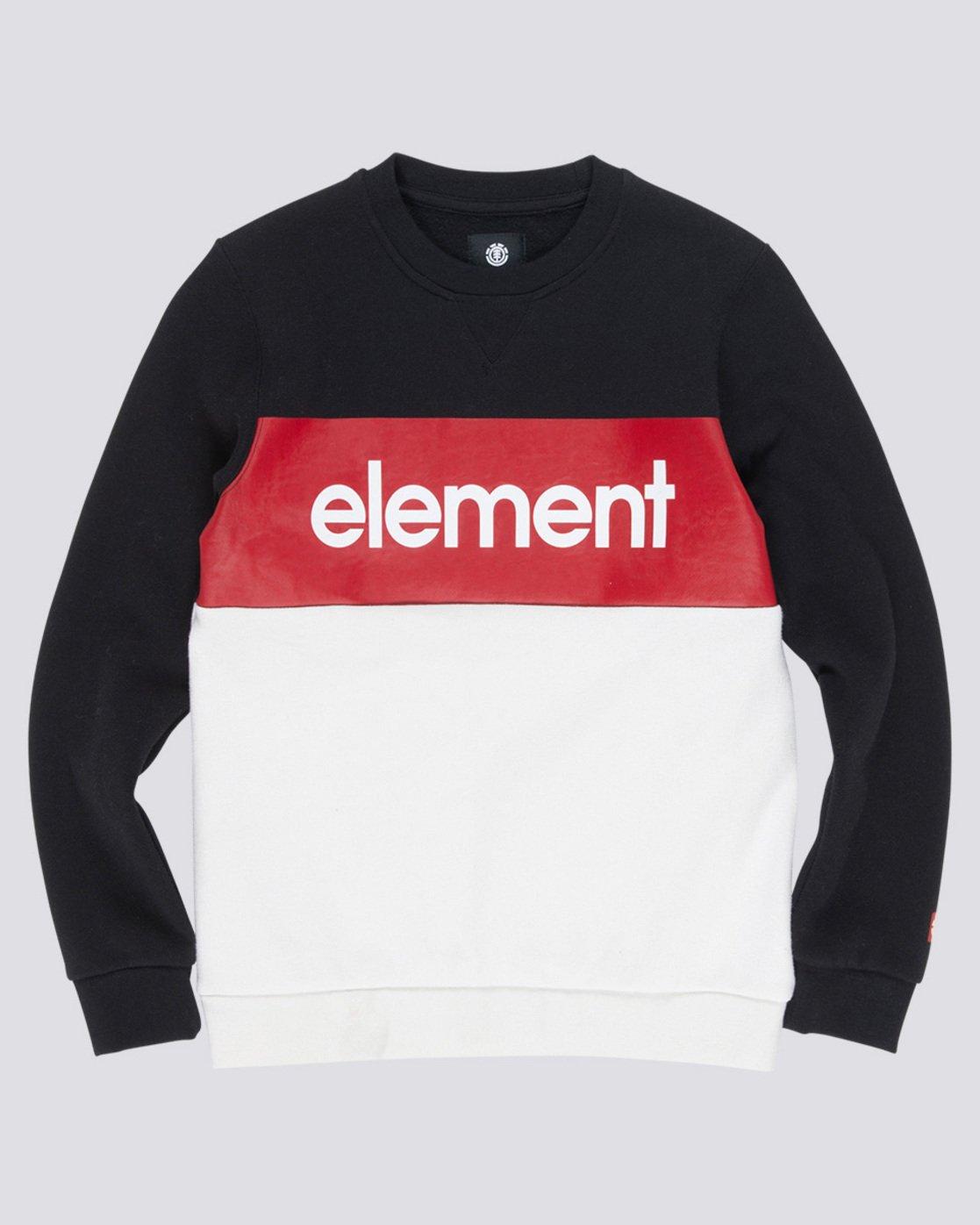 0 Primo Boy - Sweatshirt Black Q2CRA2ELF9 Element