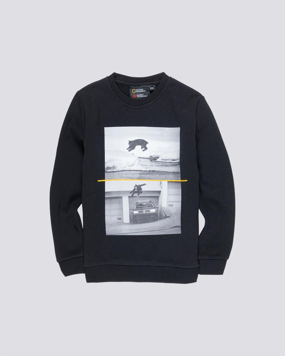 0 Bobcat Westgate Boy - Sweatshirt Black Q2CRA3ELF9 Element