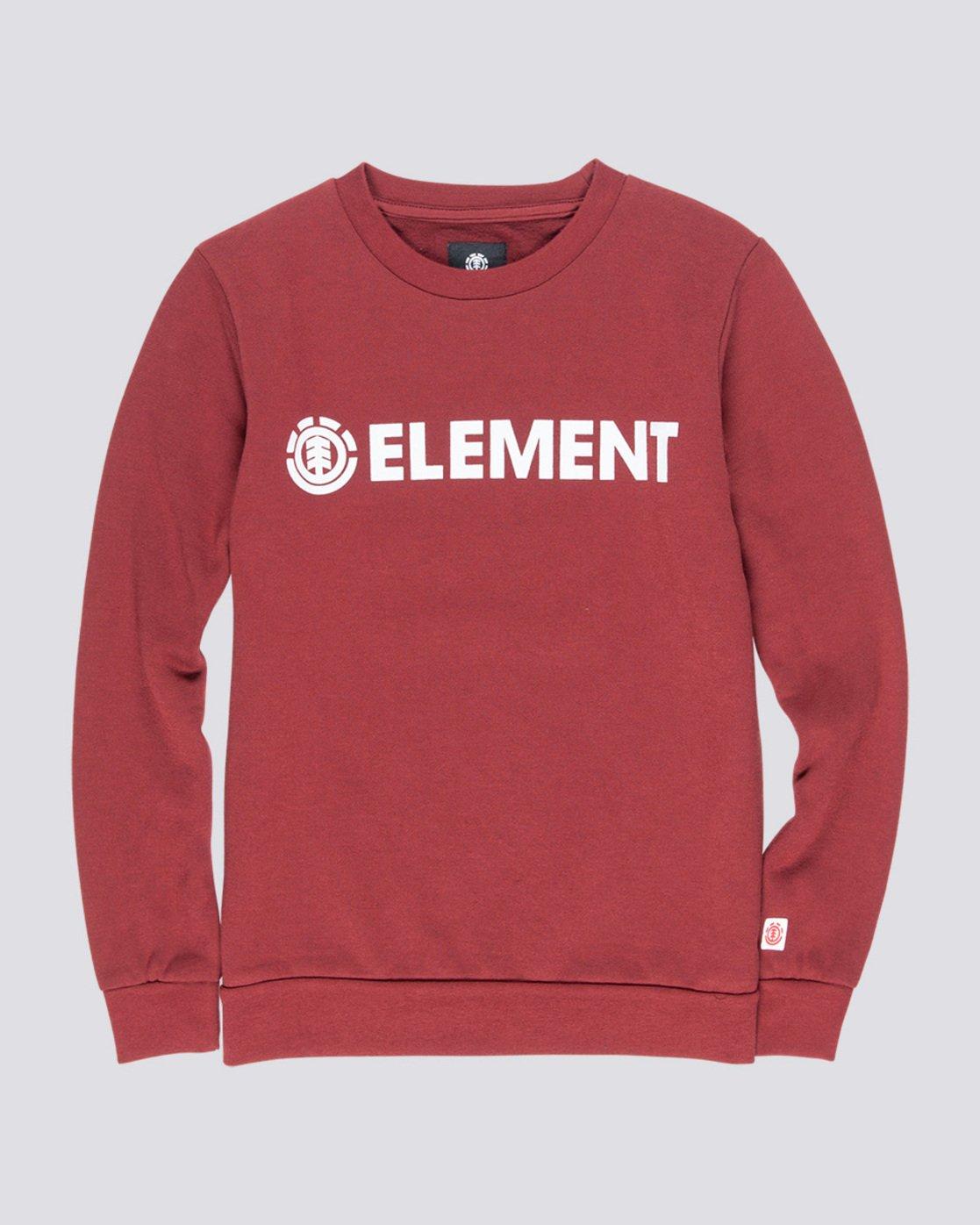 0 Blazin Boy - Sweatshirt Red Q2CRA5ELF9 Element