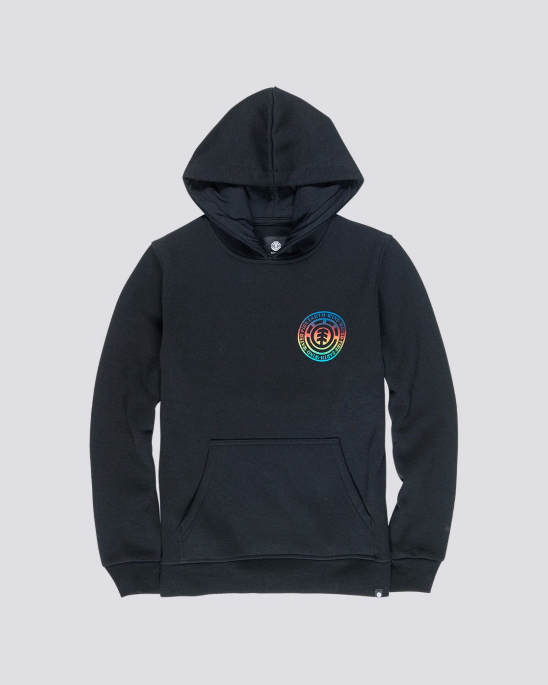 0 Seal Gradient Boy - Hoodie Black Q2HOA8ELF9 Element