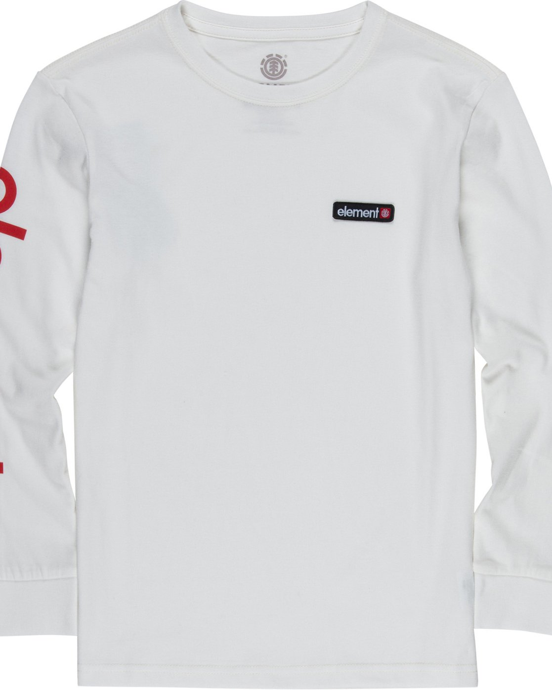 1 Primo Boy - Long Sleeve T-Shirt White Q2LSA1ELF9 Element