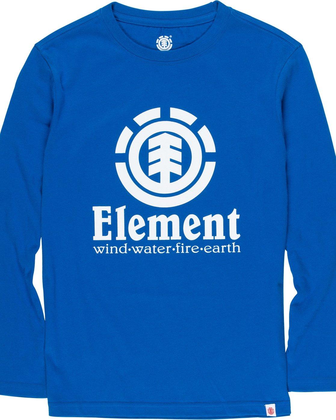 1 Vertical Boy - Long Sleeve T-Shirt Blue Q2LSA2ELF9 Element