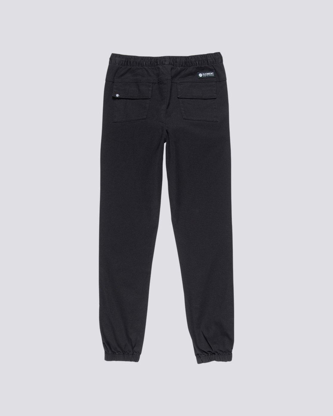1 Triggs Boy - Trousers Black Q2PTA3ELF9 Element