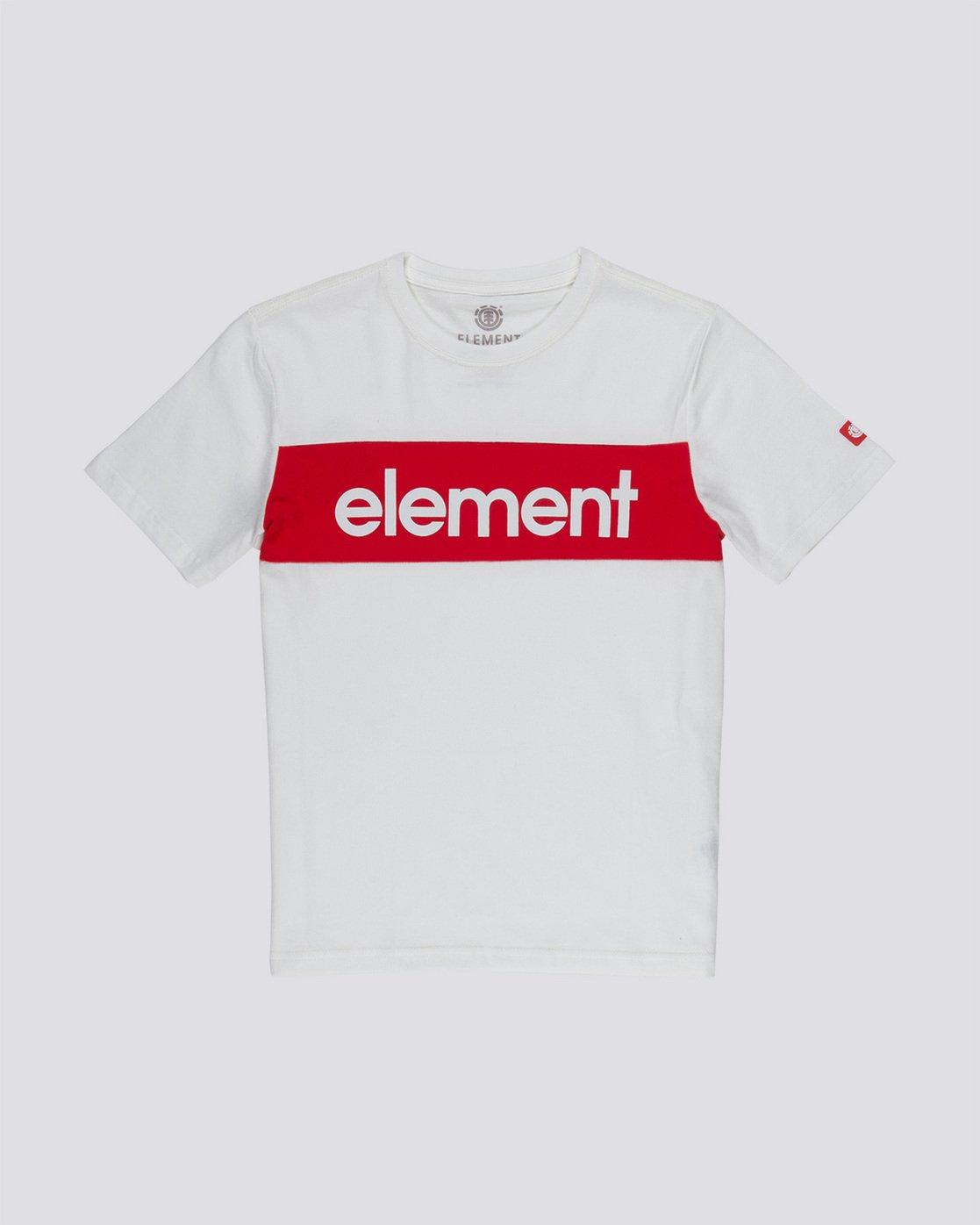 0 Primo Flag Boy - T-Shirt White Q2SSA2ELF9 Element