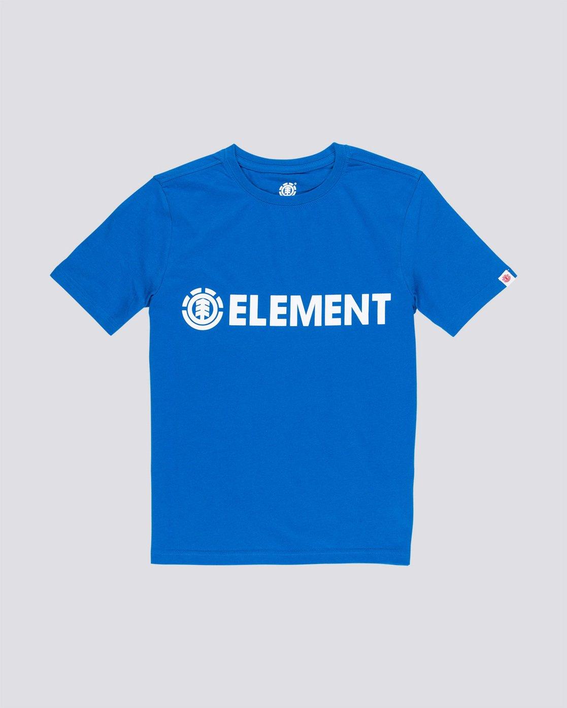 0 Blazin Boy - T-Shirt Blue Q2SSA3ELF9 Element