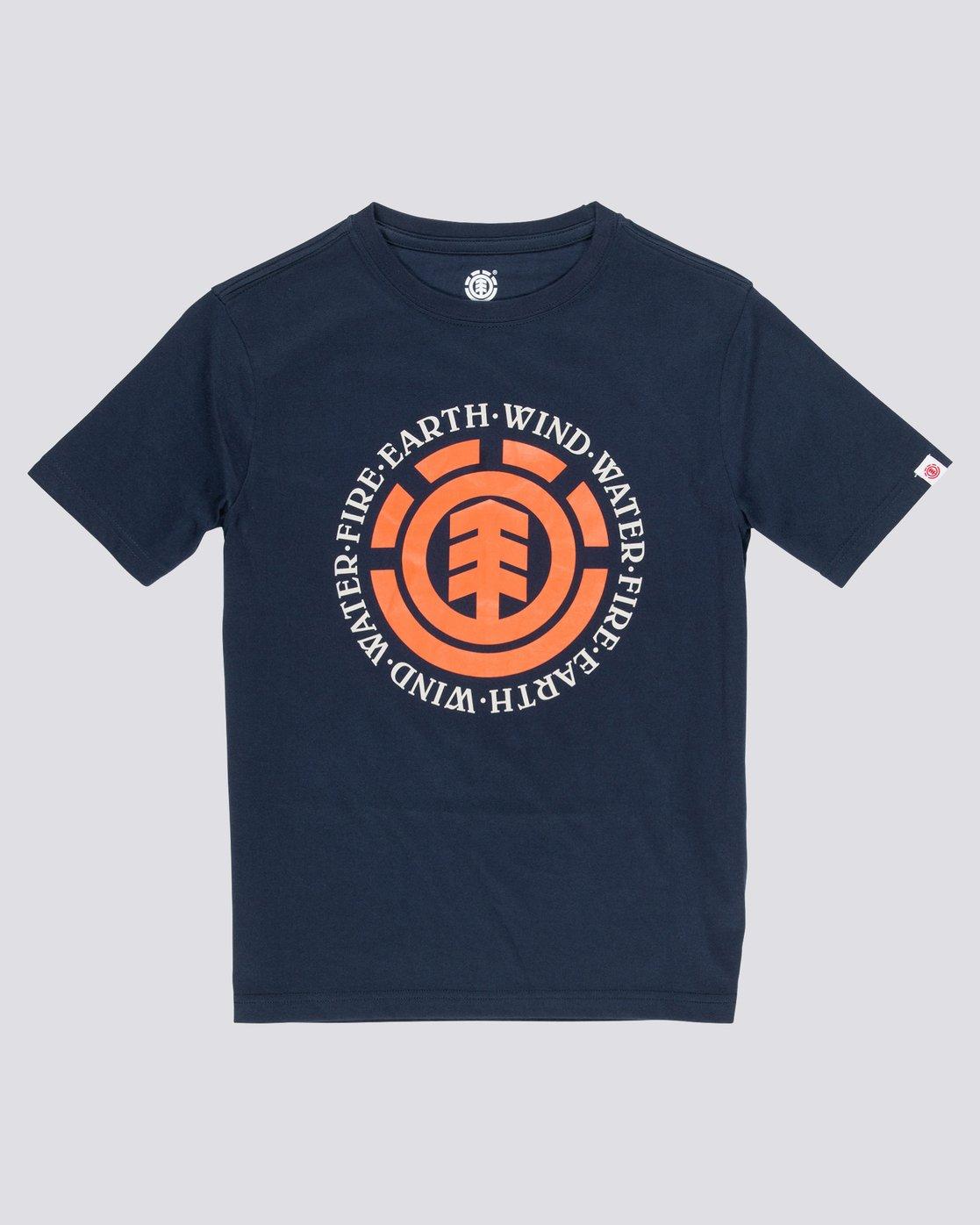 0 Seal - T-Shirt manches courtes pour Garçon Bleu Q2SSA4ELF9 Element