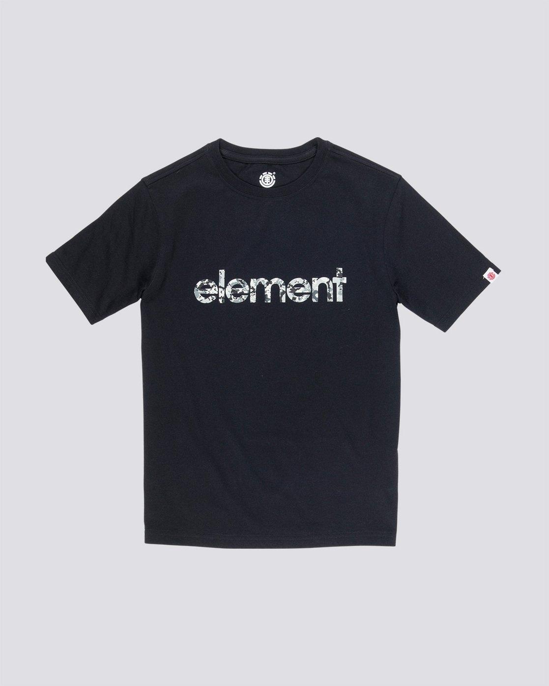 0 Verse Boy - T-Shirt Black Q2SSB1ELF9 Element