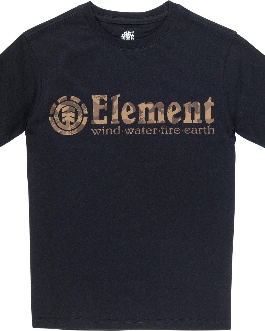 1 Scope Boy - Camiseta para Chicos Negro Q2SSB2ELF9 Element