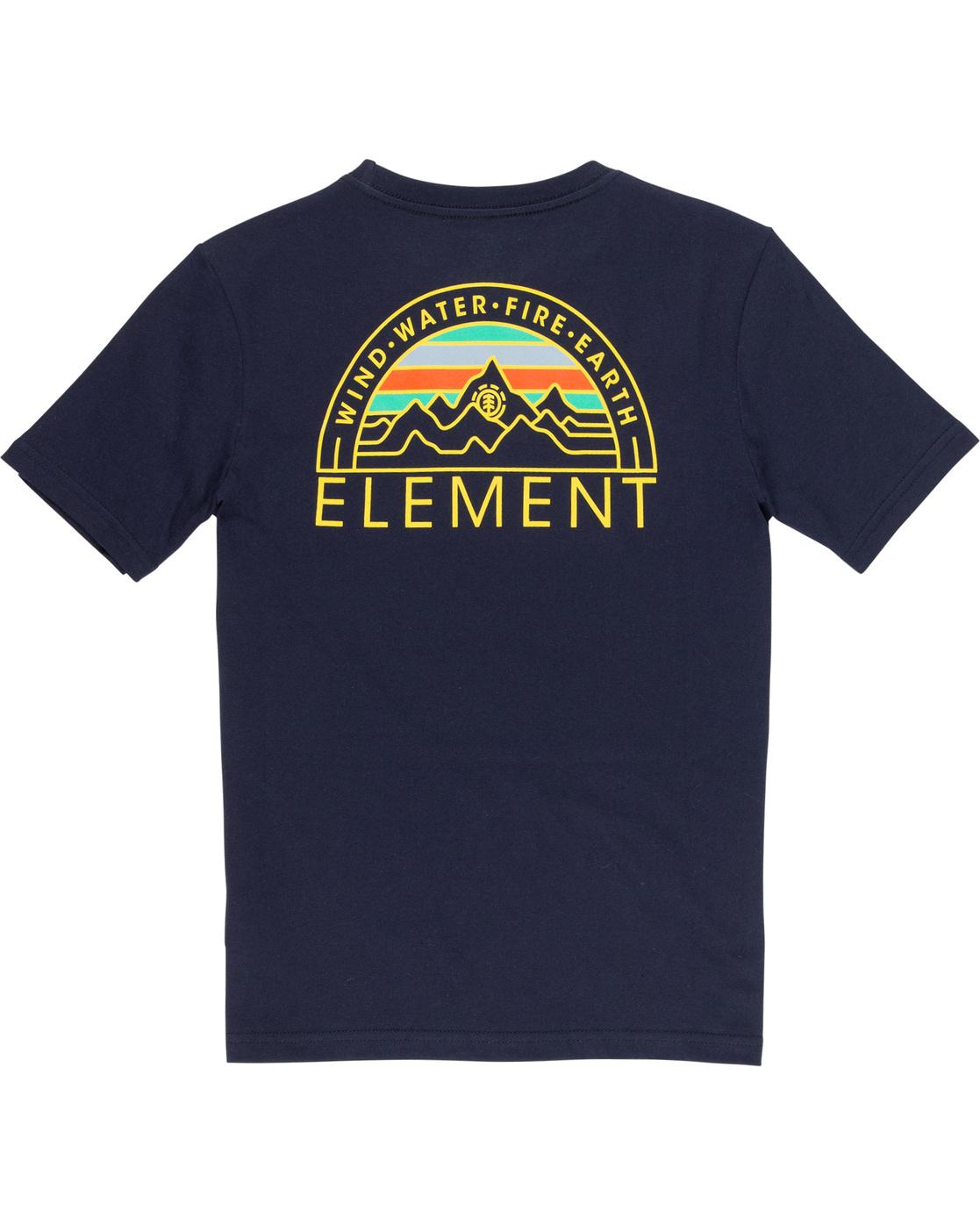 3 Odyssey Boy - Maglietta da Ragazzo Blue Q2SSB5ELF9 Element