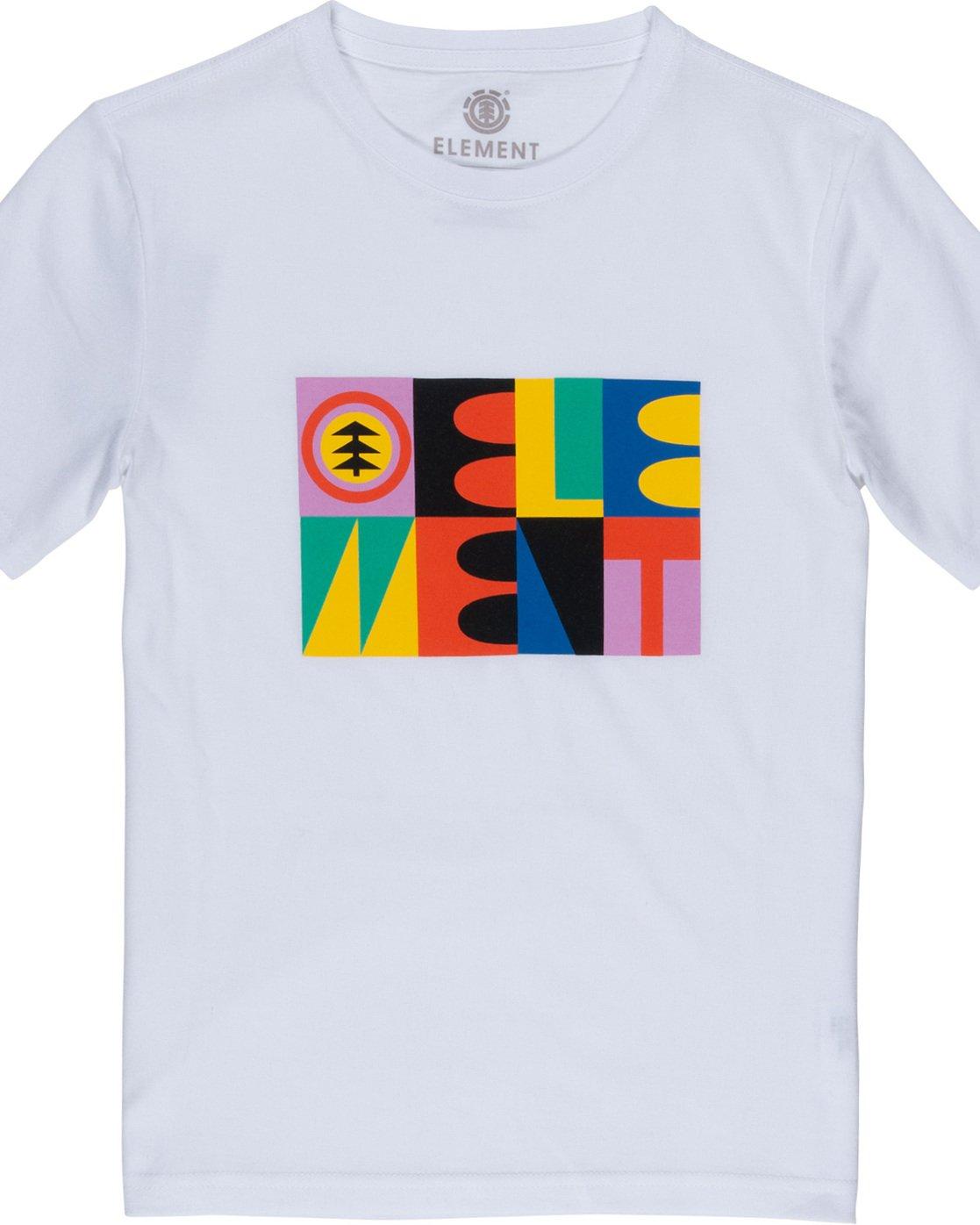 1 Barren Boy - T-Shirt White Q2SSB7ELF9 Element