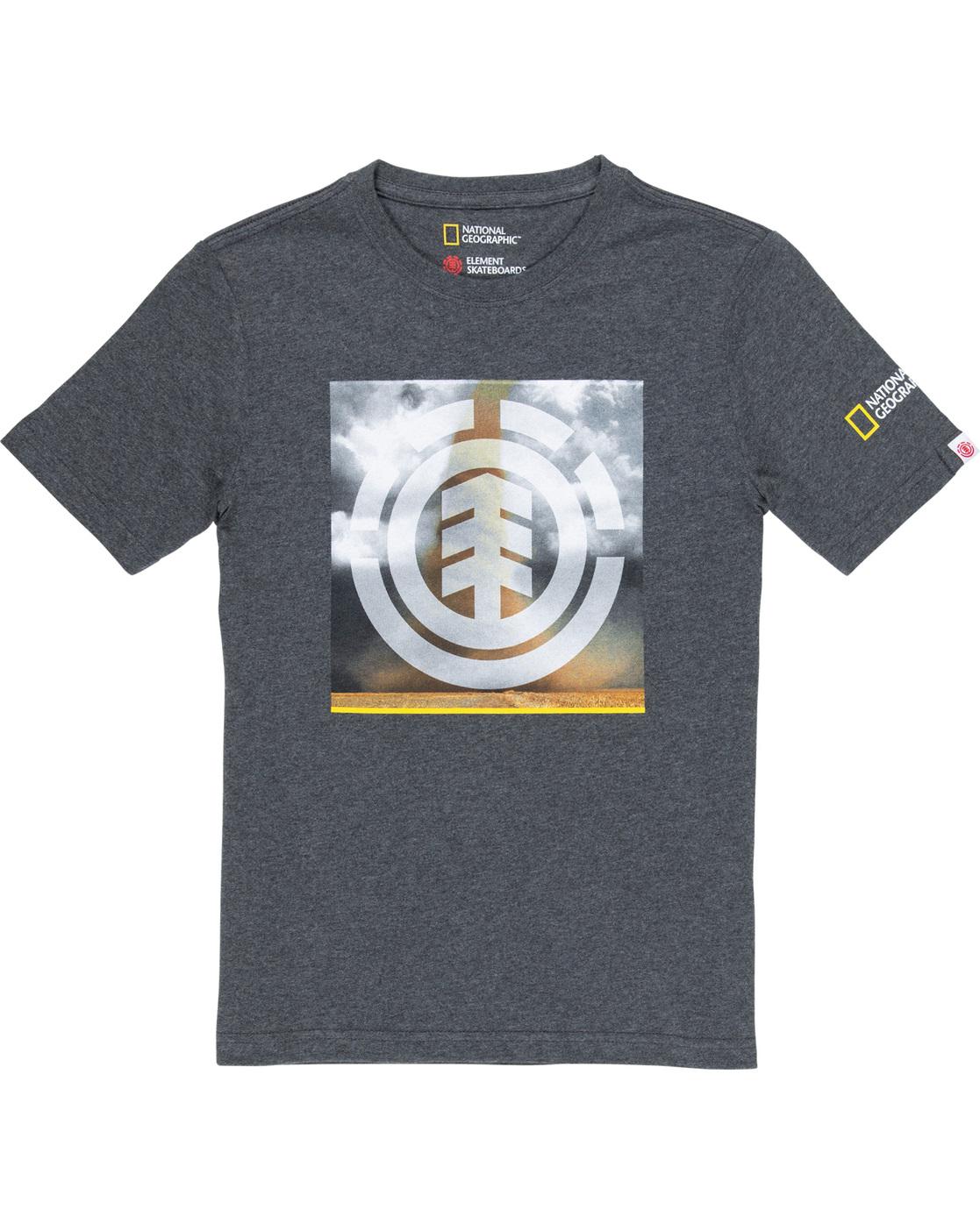 1 Combust Icon Boy - T-Shirt für Jungen Grau Q2SSD2ELF9 Element