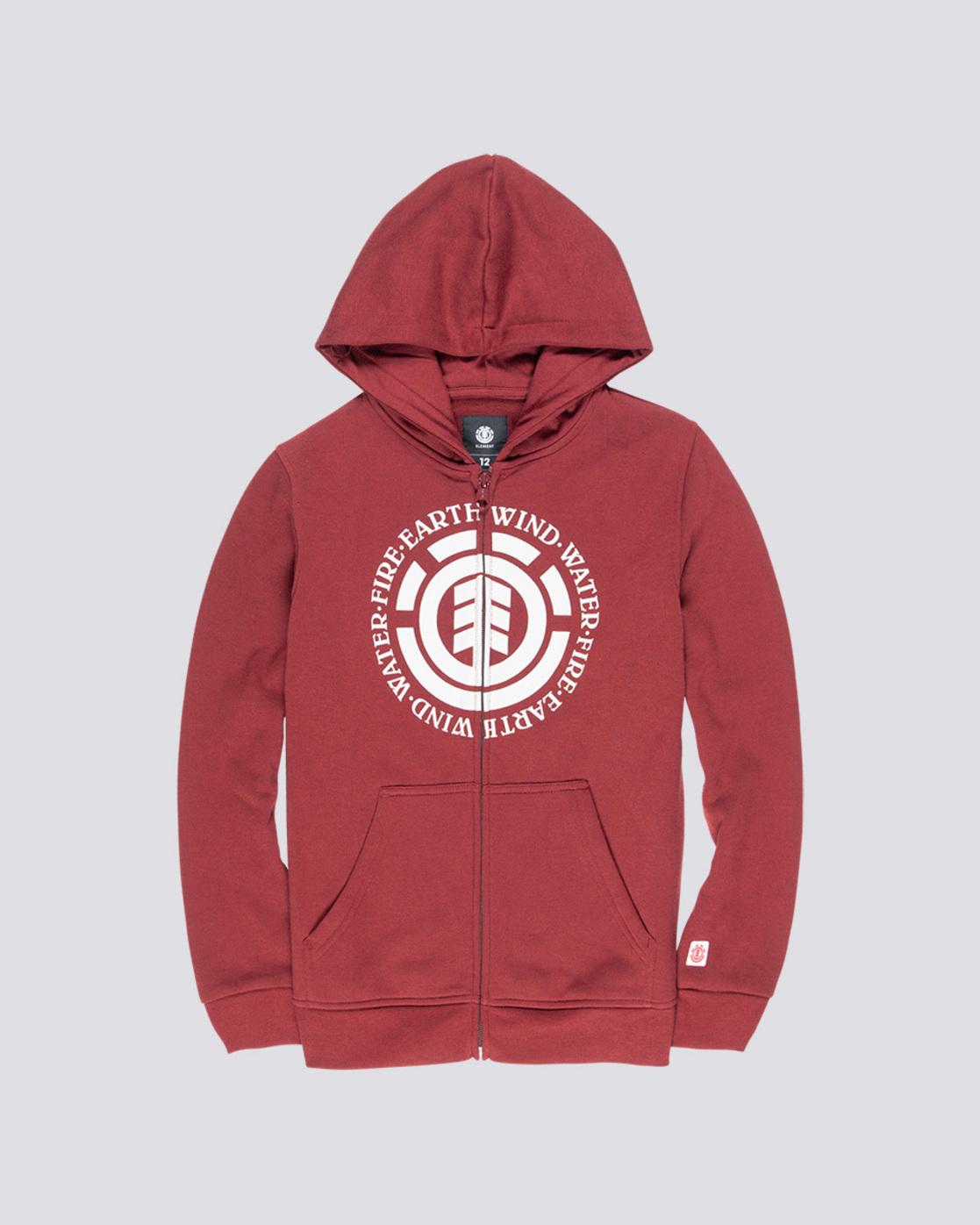 0 Seal Boy - Zip-Up Hoodie Red Q2ZHA2ELF9 Element