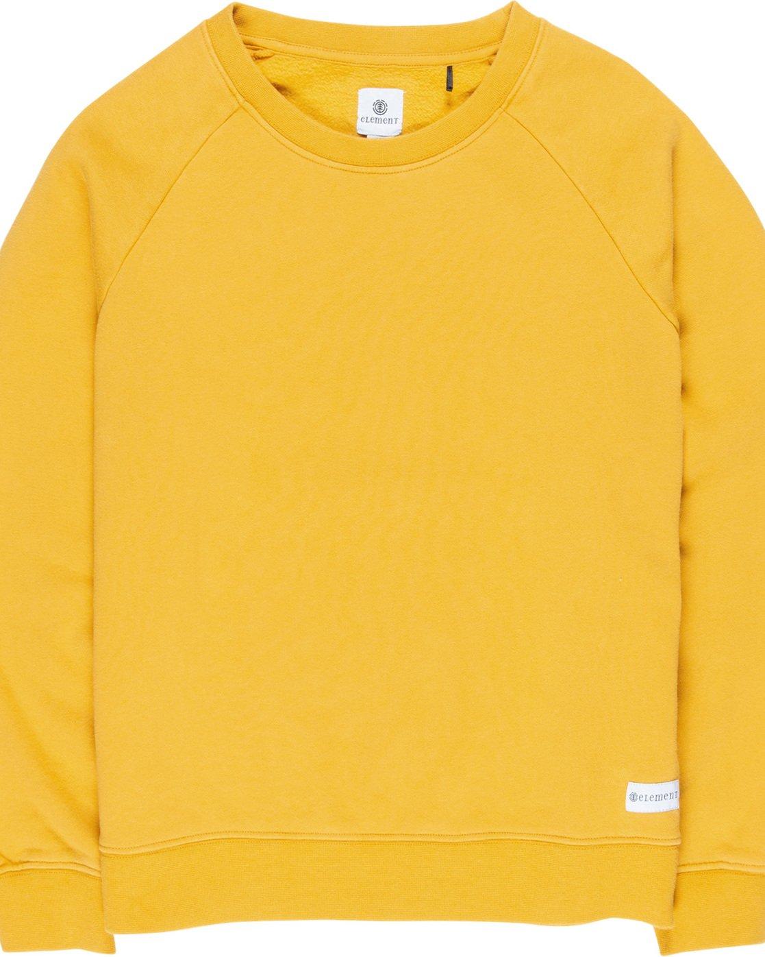 1 Neon Logic - Sweatshirt Yellow Q3CRA3ELF9 Element