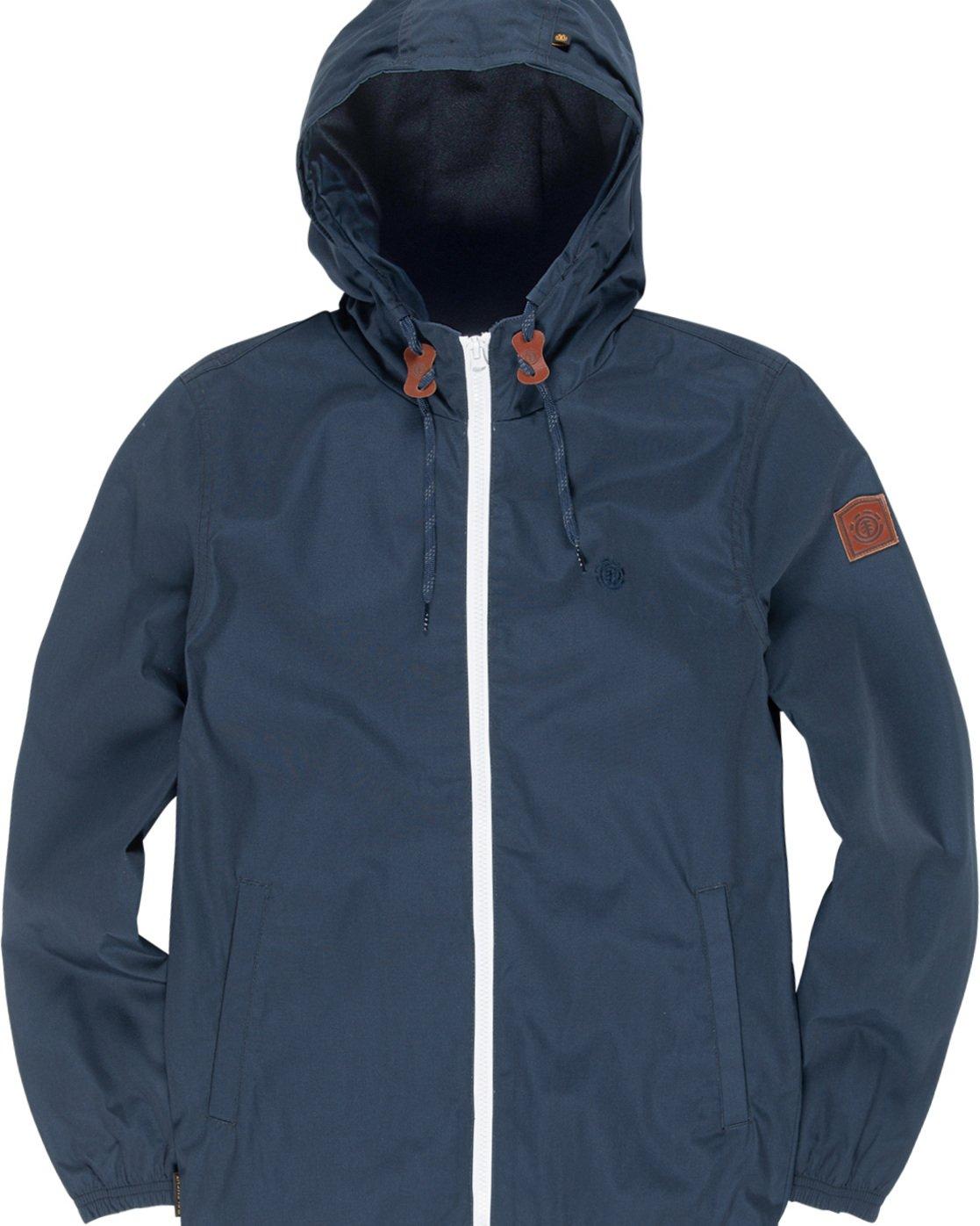 3 Home Free - Hooded Jacket Blue Q3JKA1ELF9 Element