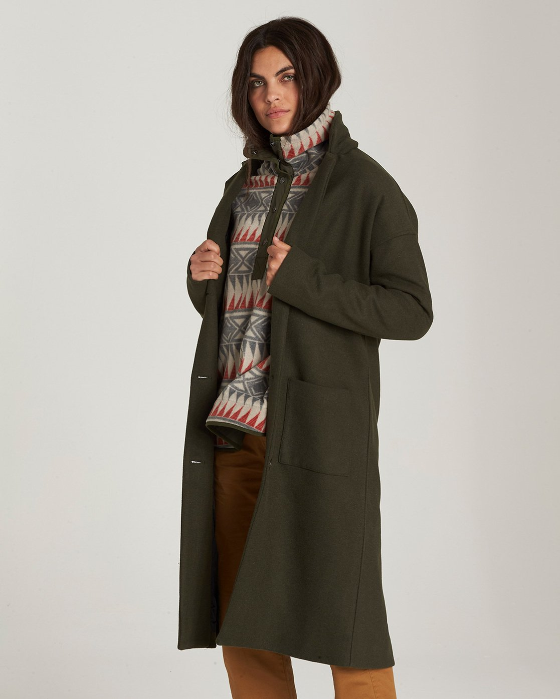 0 Bonnie - Cappotto in Lana da Donna  Q3JKA7ELF9 Element