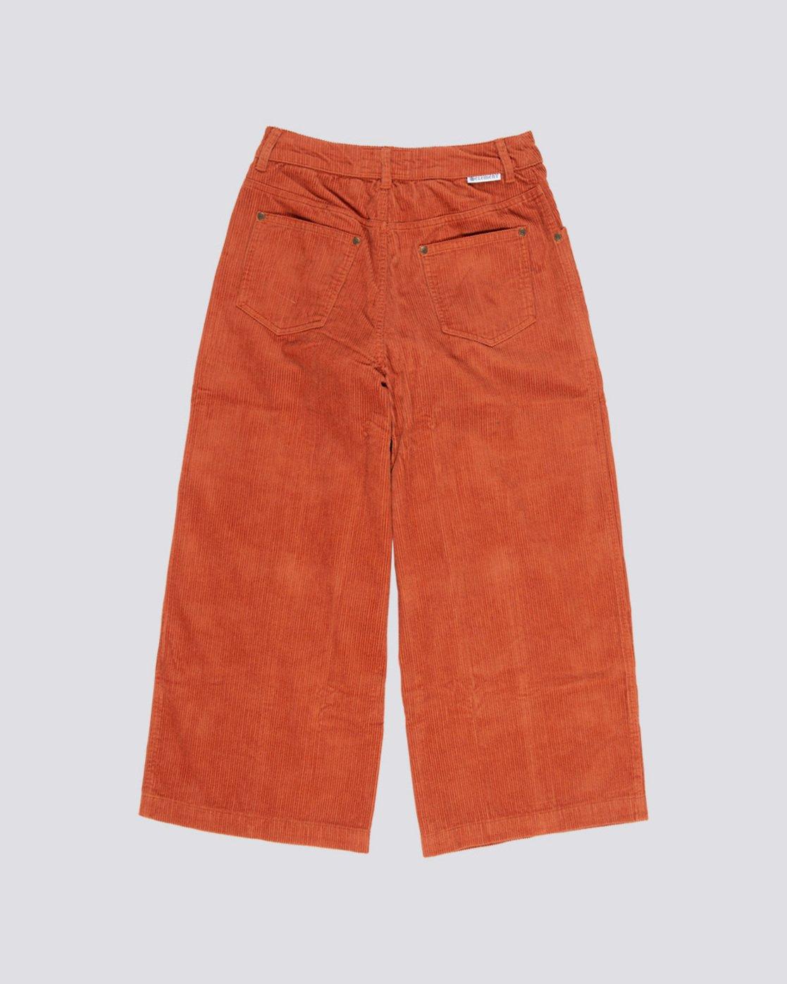 1 Wide Awake - Wide Leg Corduroy Trousers Orange Q3PTA4ELF9 Element